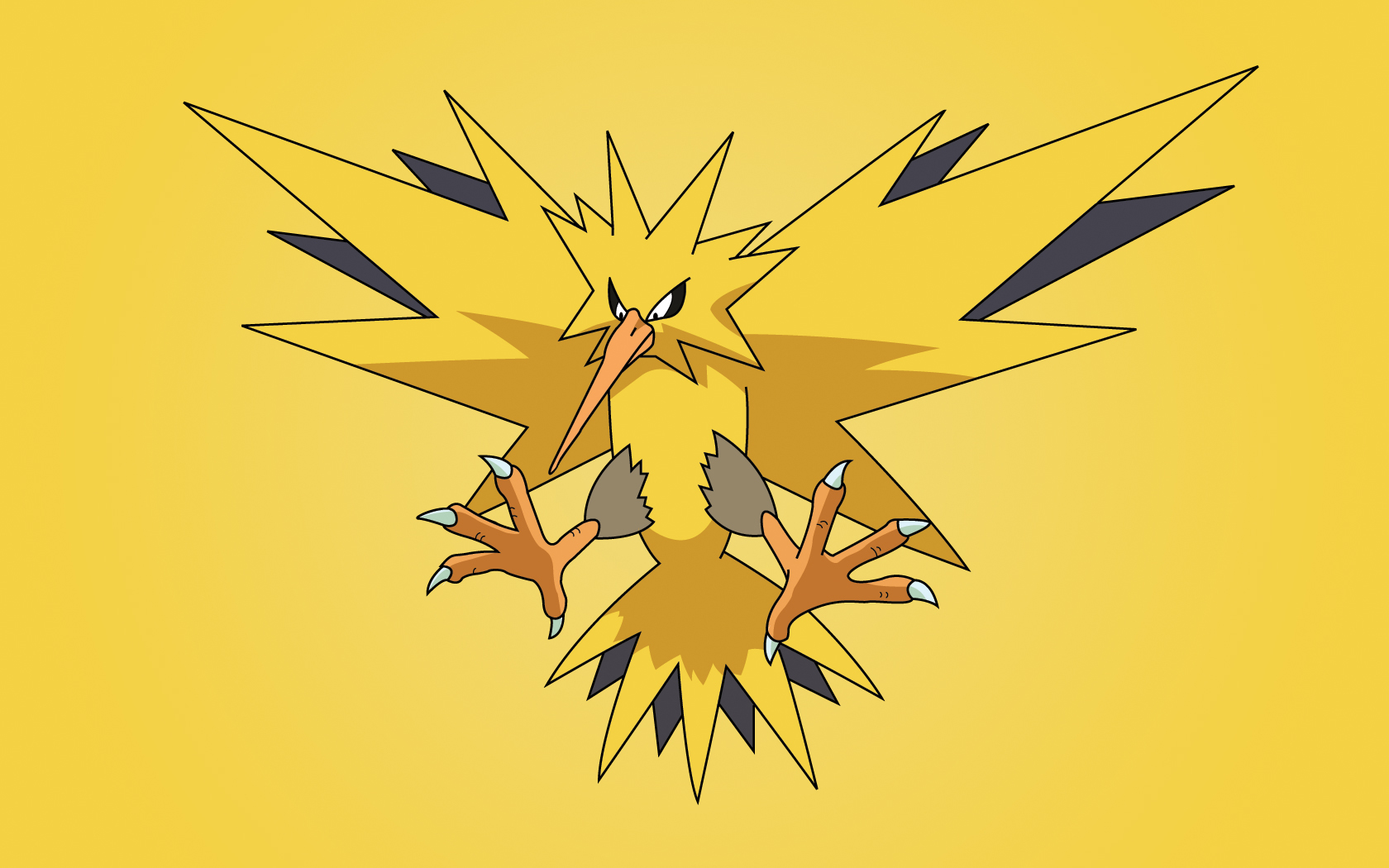 Pokemon Zapdos HD Wallpaper