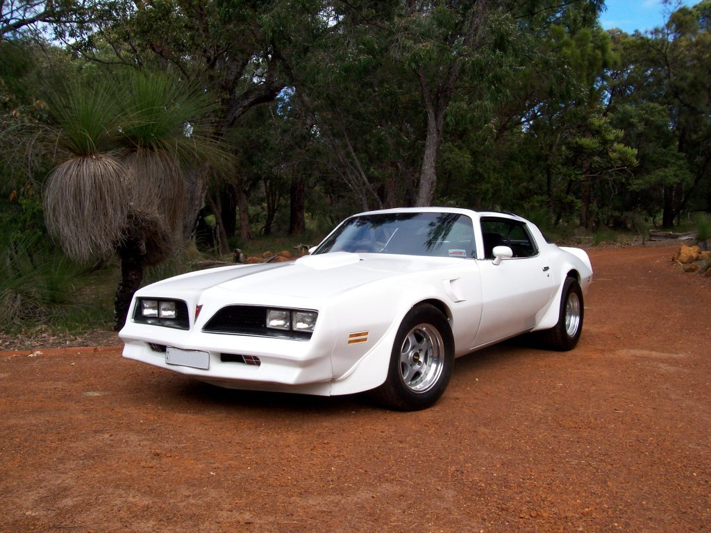Pontiac trans am front HD Wallpaper