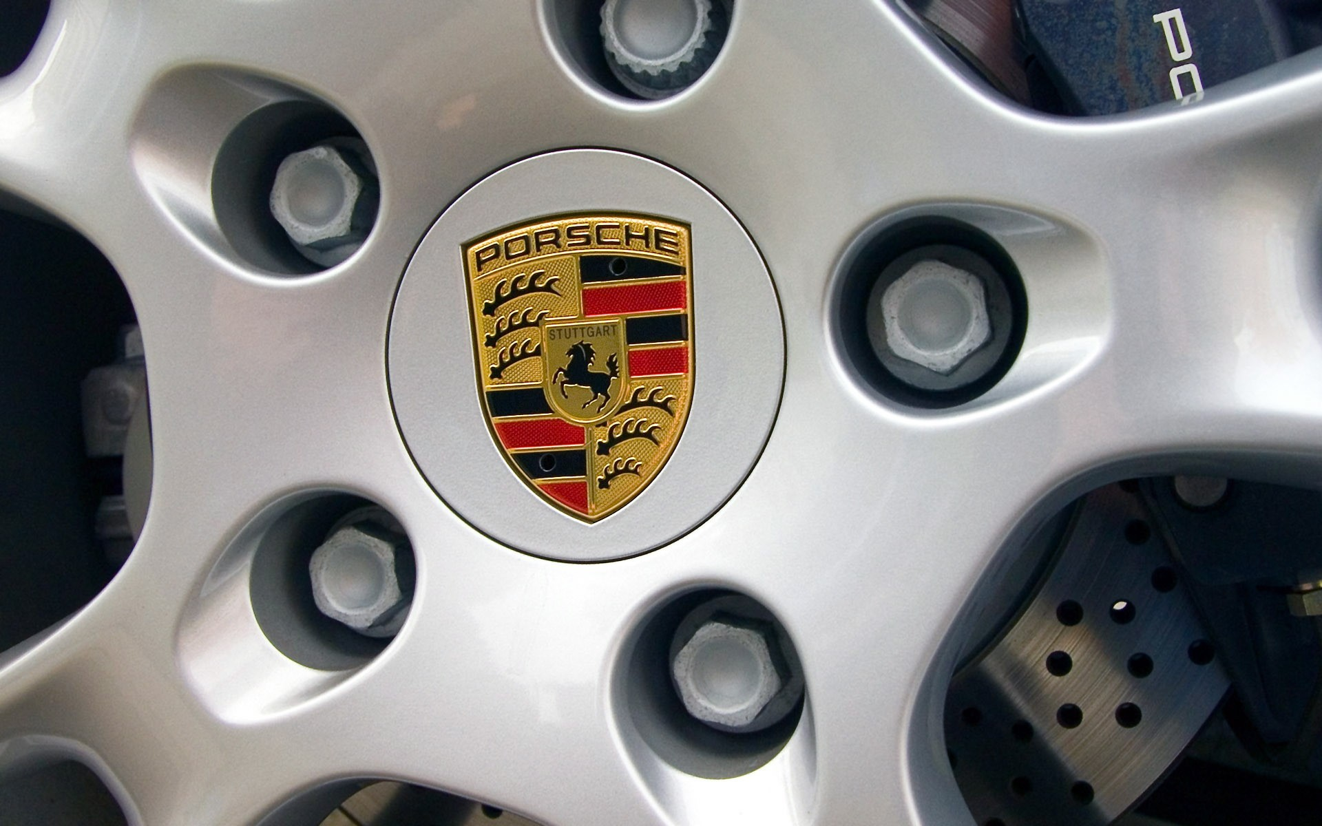 Porsche Rims car tires HD Wallpaper