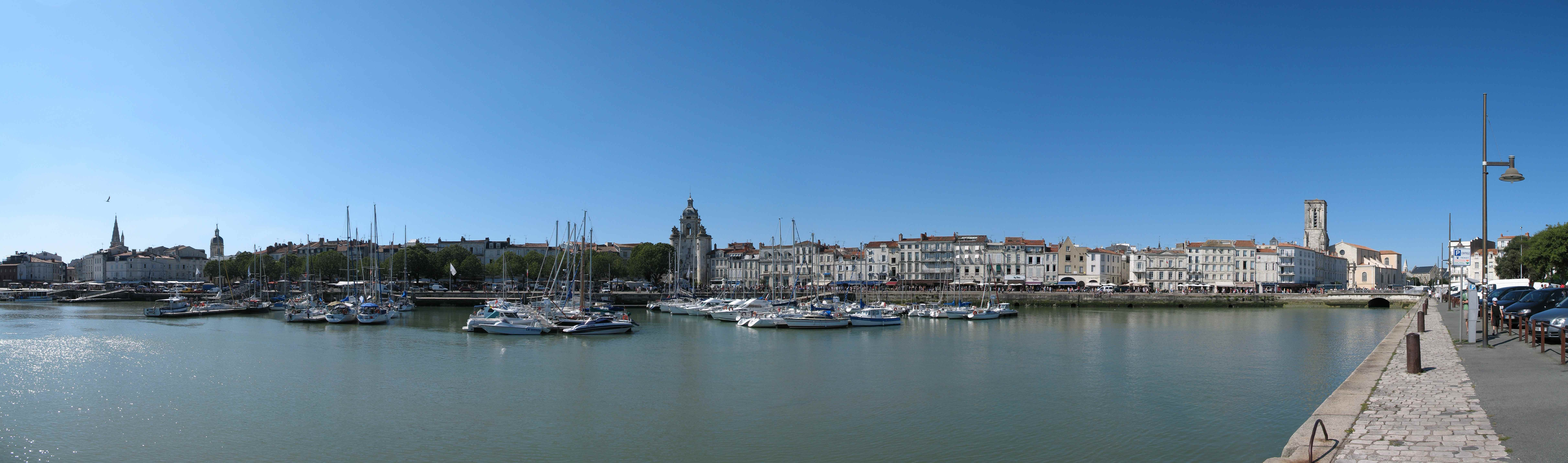 port la Rochelle HD Wallpaper