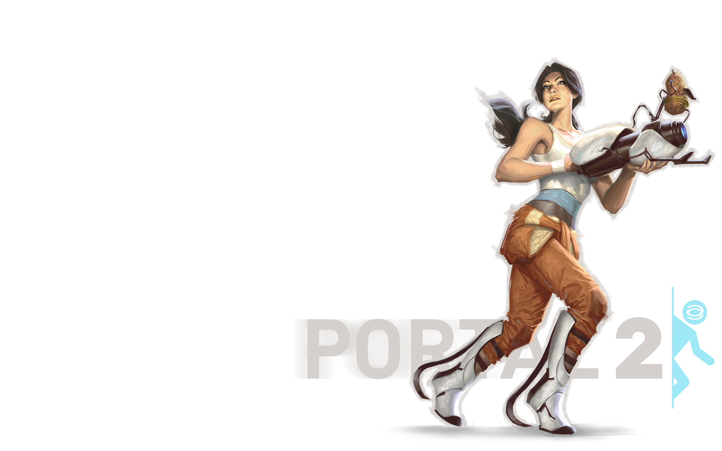 portal 2 HD Wallpaper