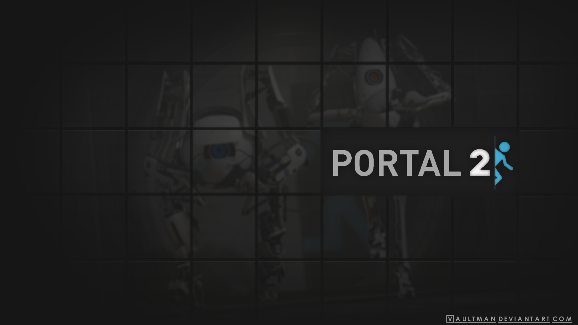 Portal best widescreen background HD Wallpaper