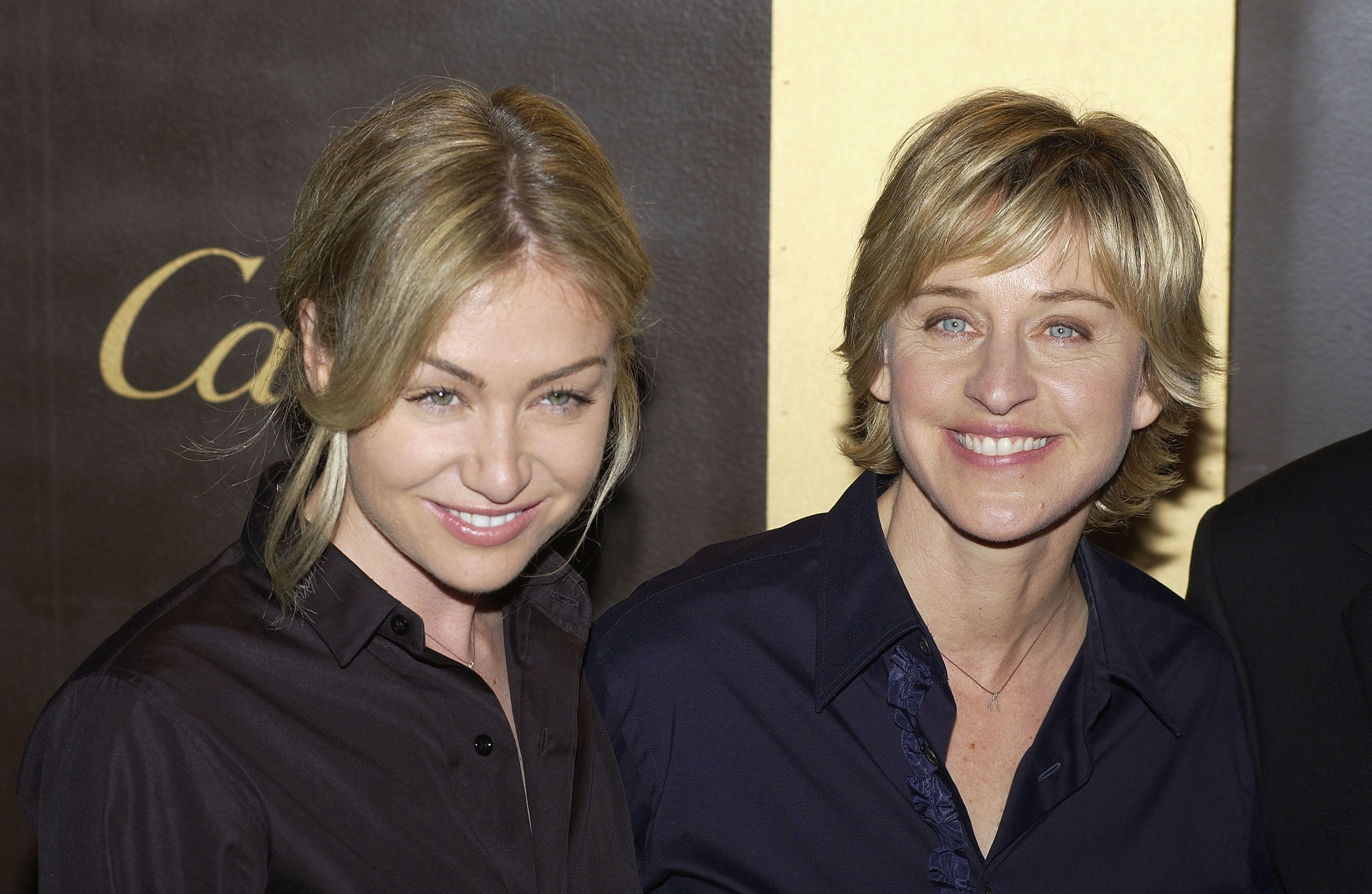 portia de rossi ellen HD Wallpaper