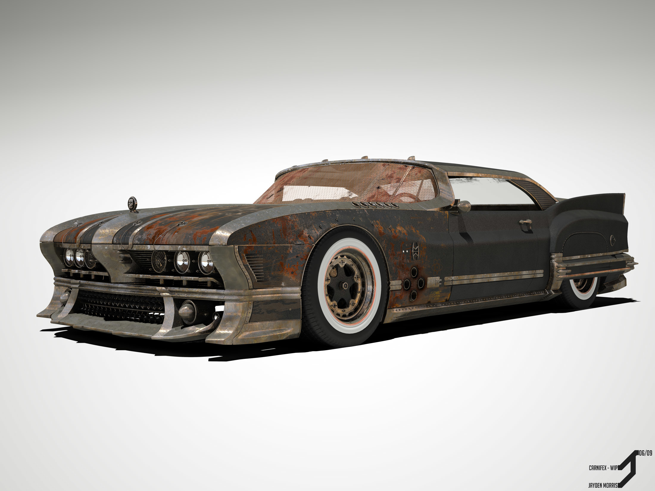 post-apocalyptic cars rusty color HD Wallpaper