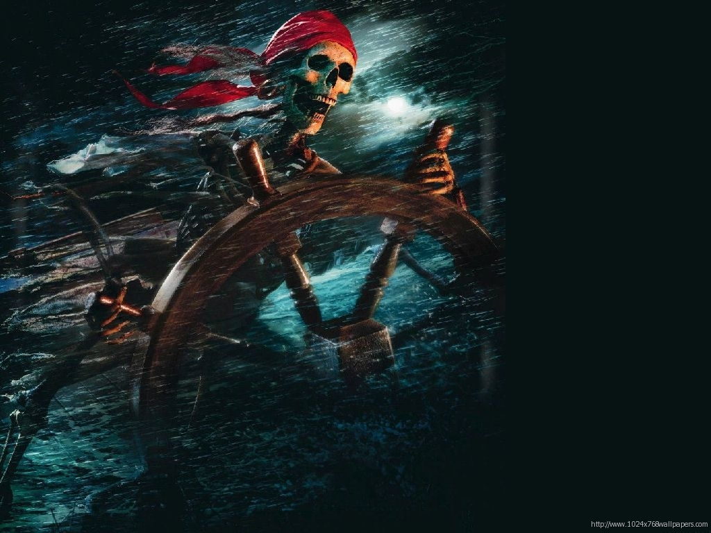 potc skeleton poster HD Wallpaper