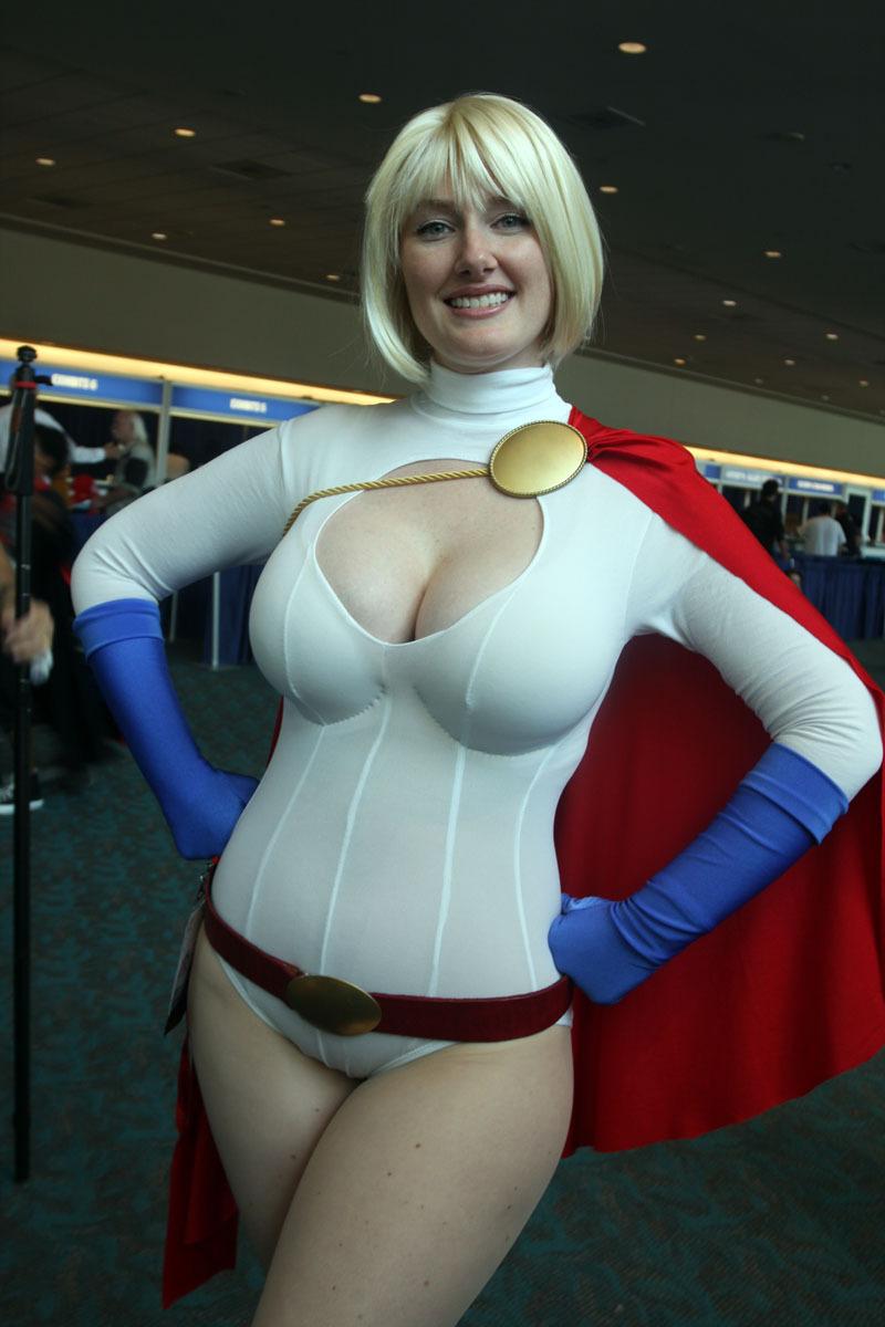 power girl huge boobs