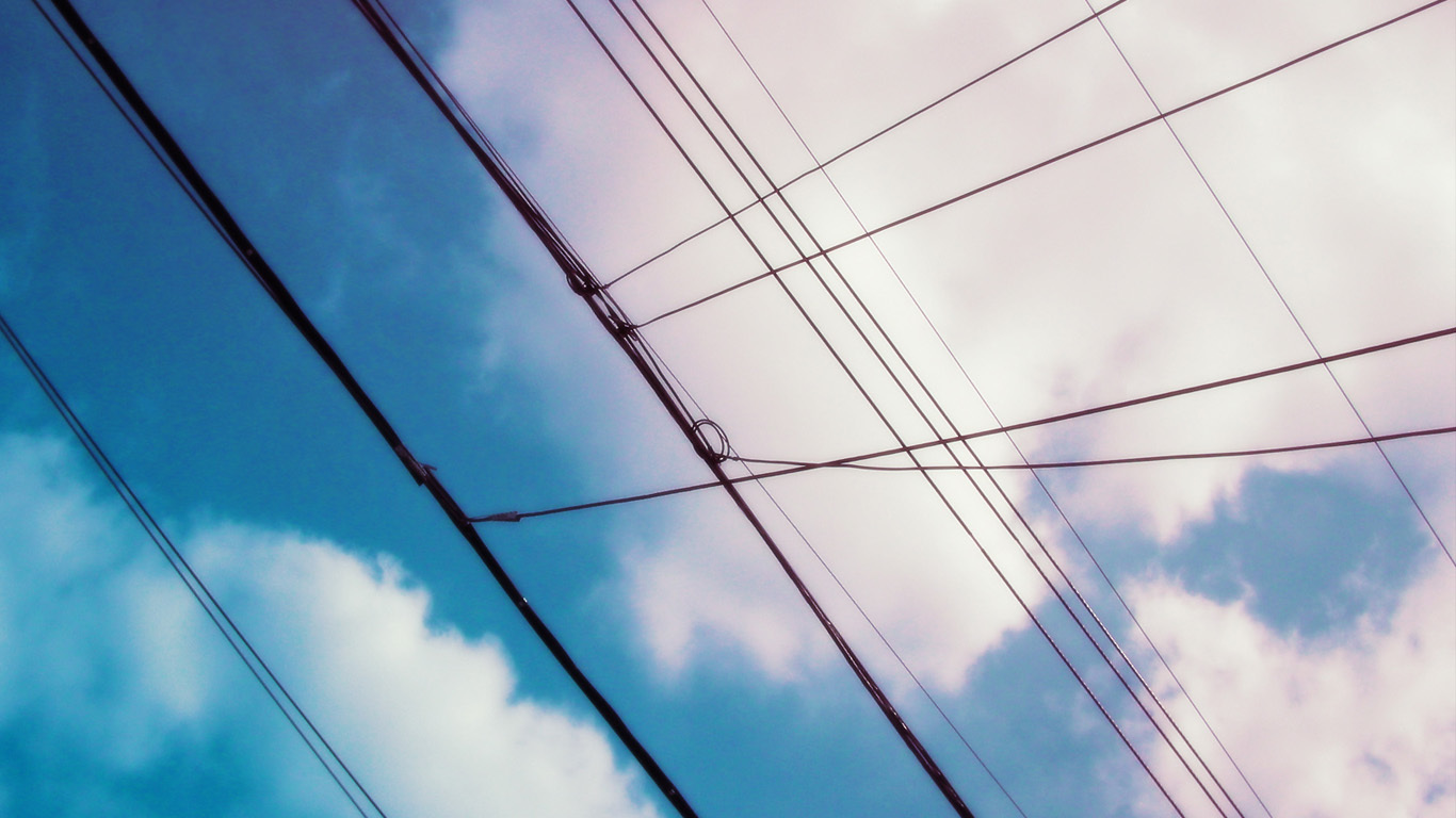power lines HD Wallpaper