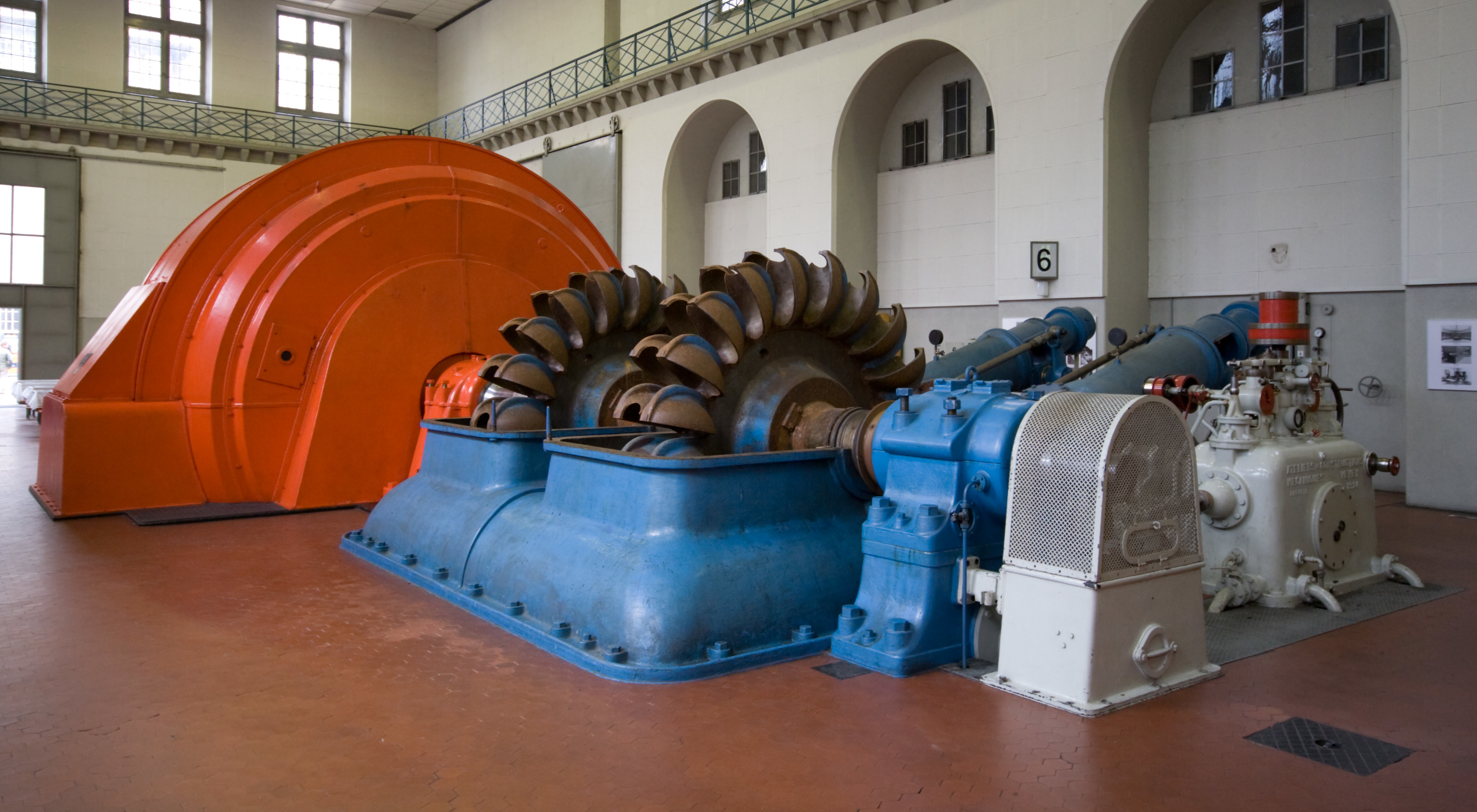 power Plant generator Turbine