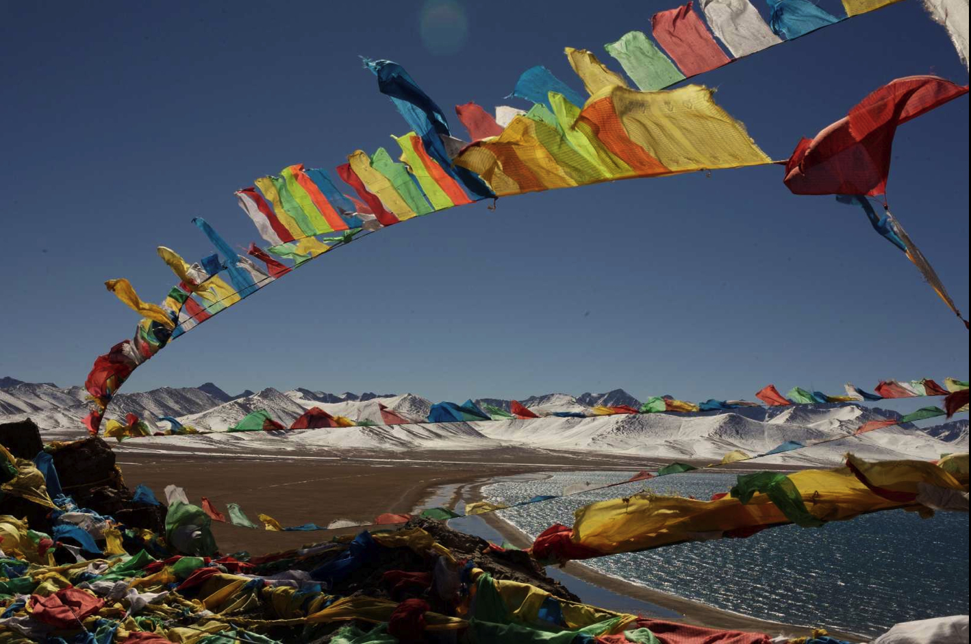 prayer Flags at namtso HD Wallpaper