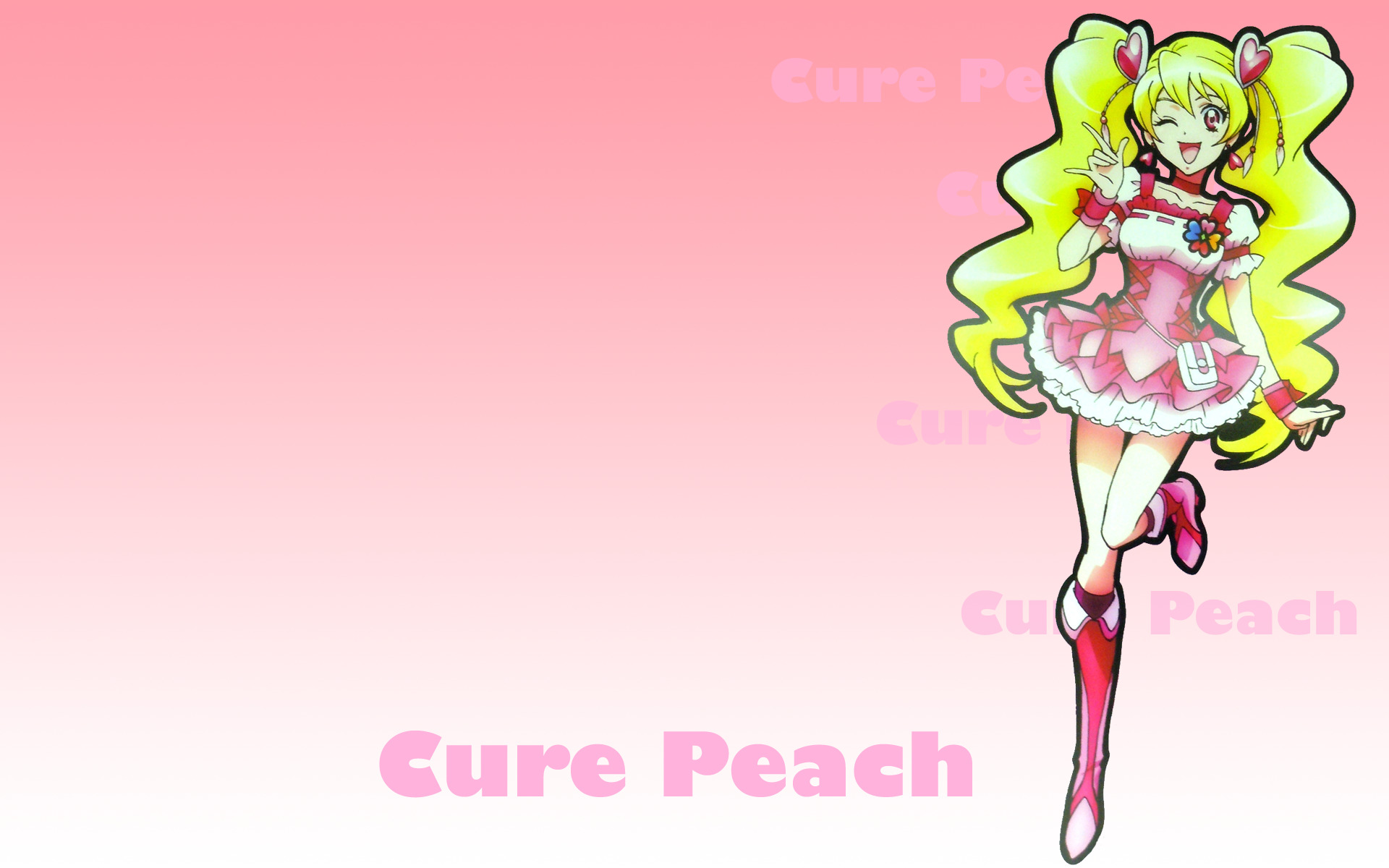 pretty cure simple background HD Wallpaper