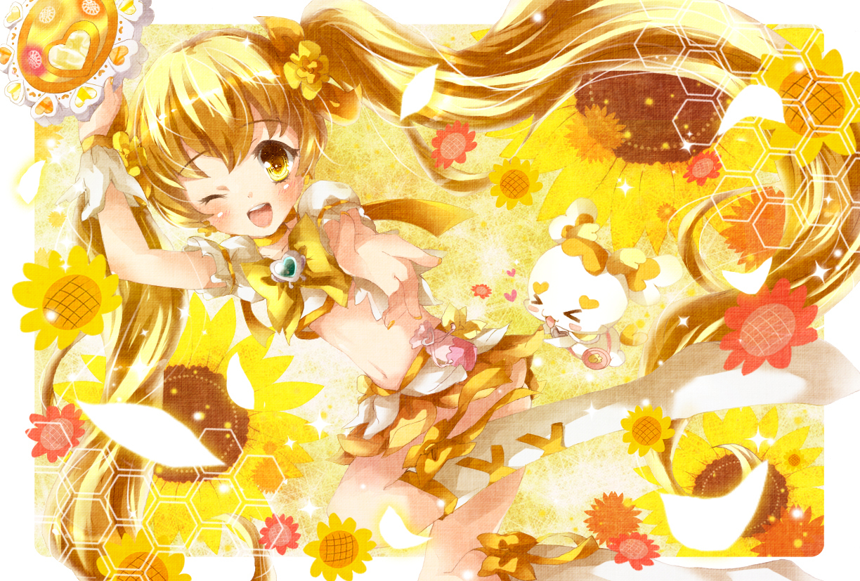 pretty cure sunlight heartcatch HD Wallpaper