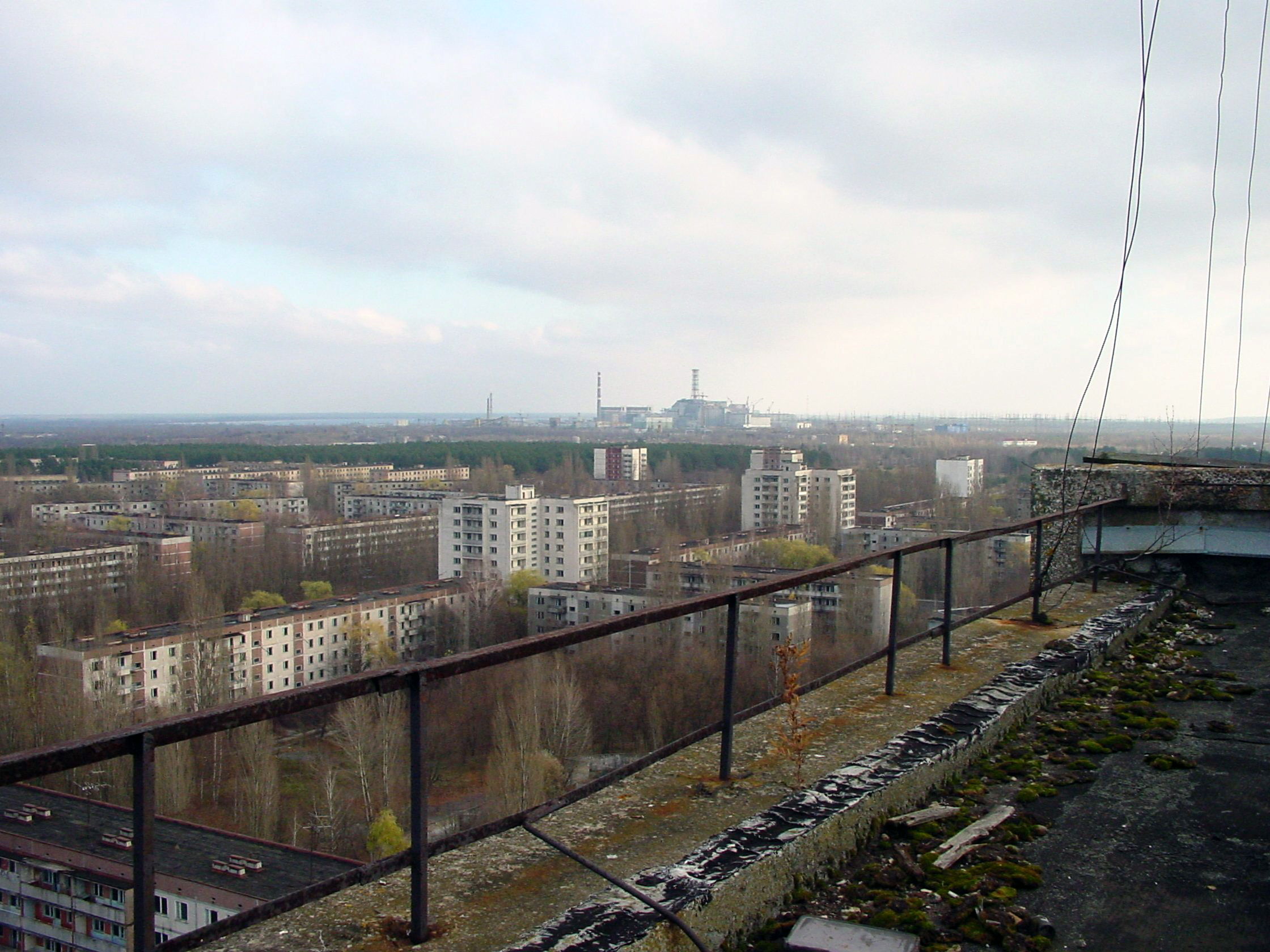 Pripyat Chernobyl City HD Wallpaper