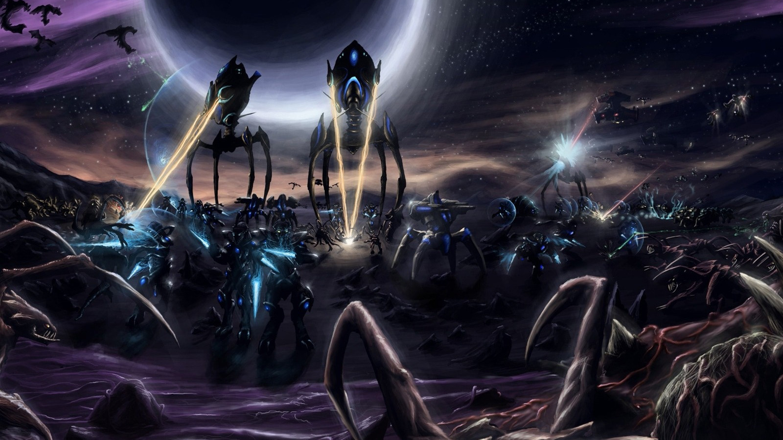 Protoss starcraft II game HD Wallpaper