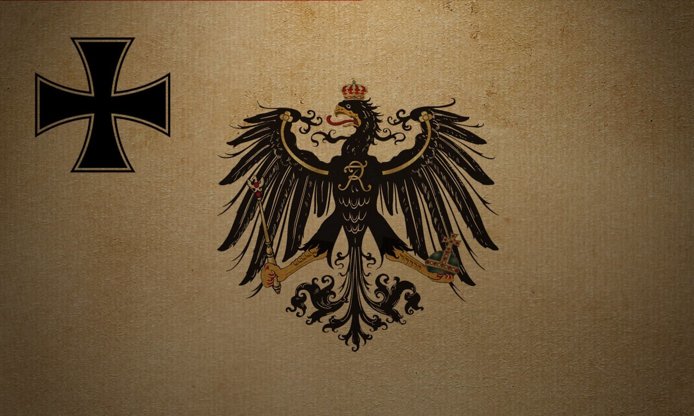Prussia flag Art HD Wallpaper