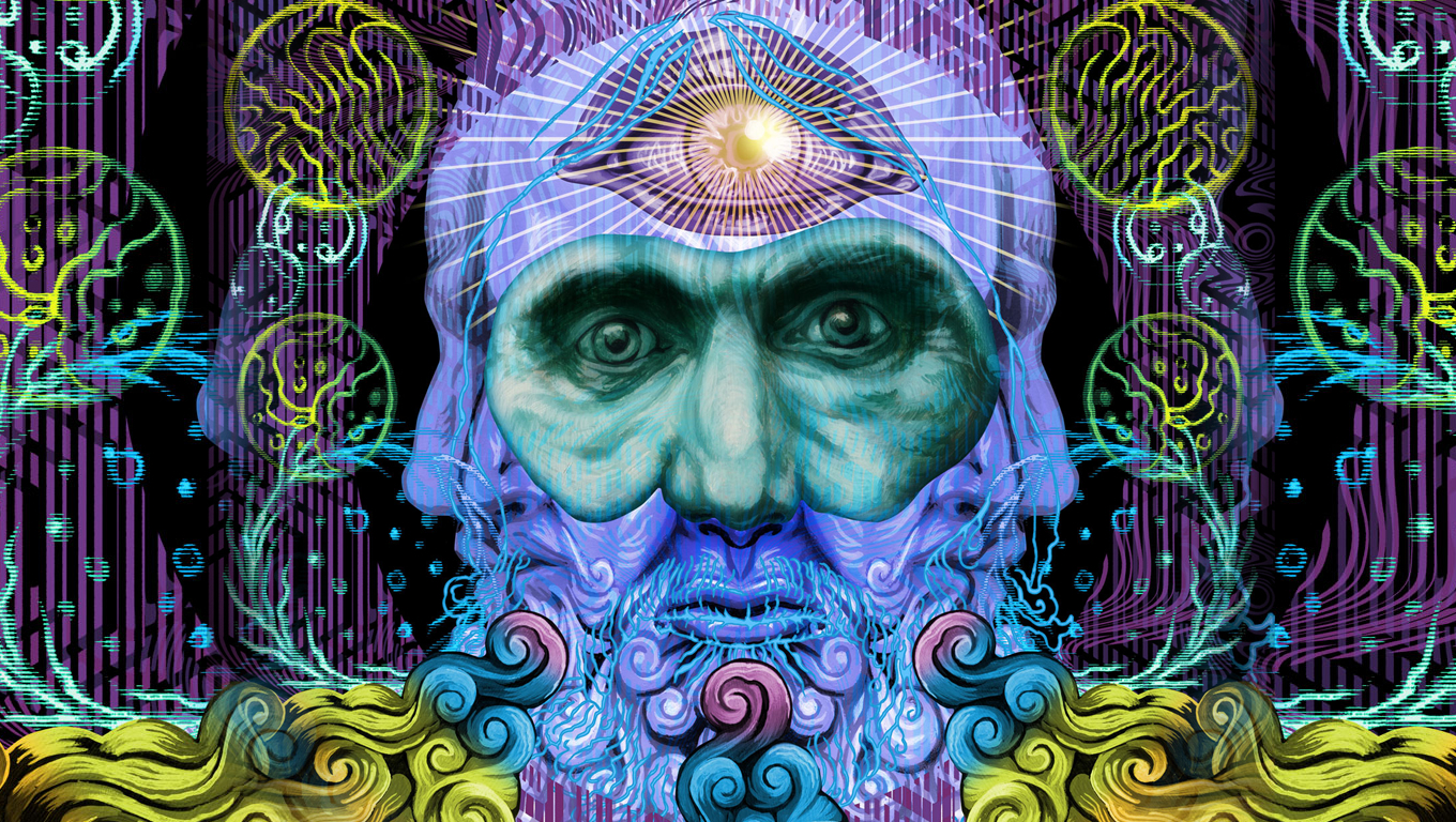psychedelic mastodon Music band HD Wallpaper