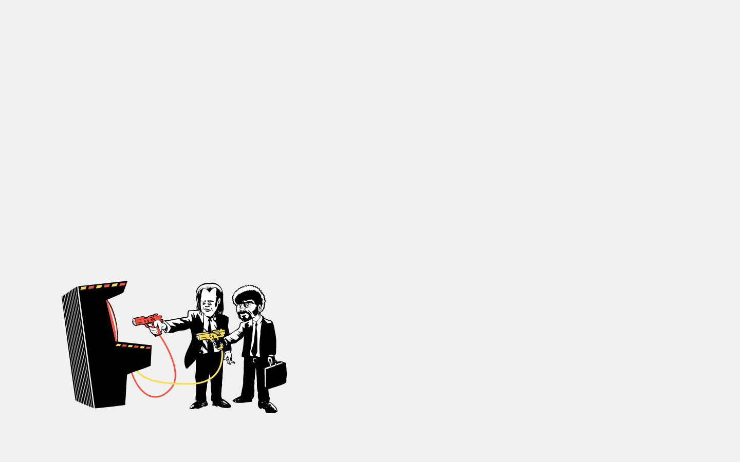 pulp fiction banksy alternative HD Wallpaper