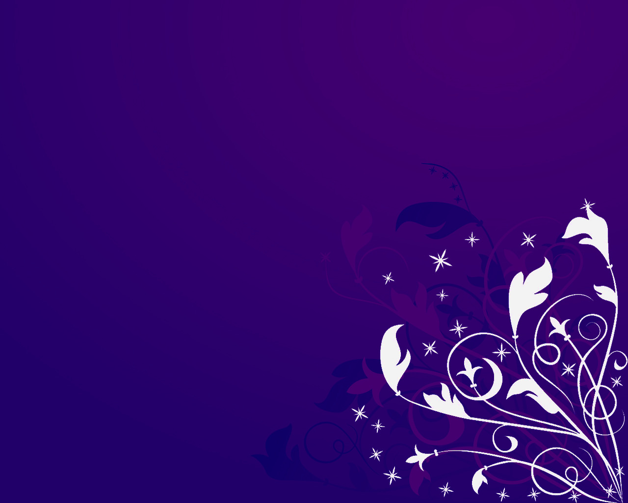 purple floral abstract HD Wallpaper