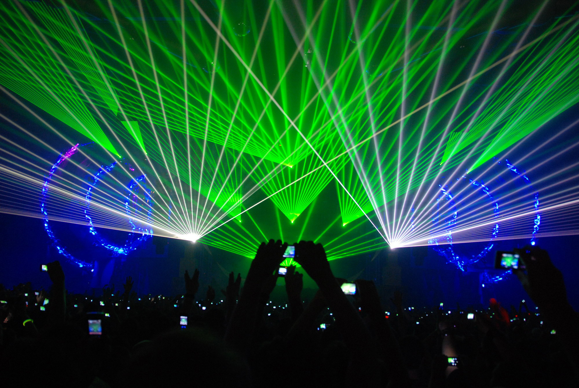 Q-Dance Lasers Qlimax 2007 HD Wallpaper