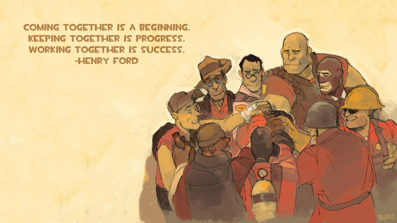 Quotes Ford team fortress HD Wallpaper