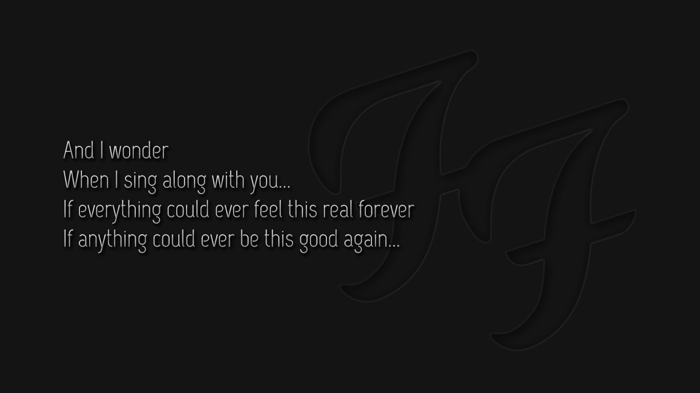 Quotes grey foo fighters HD Wallpaper
