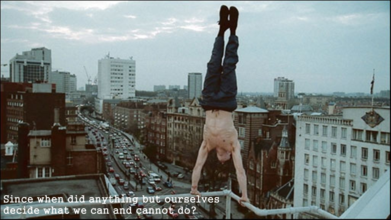 Quotes handstand HD Wallpaper