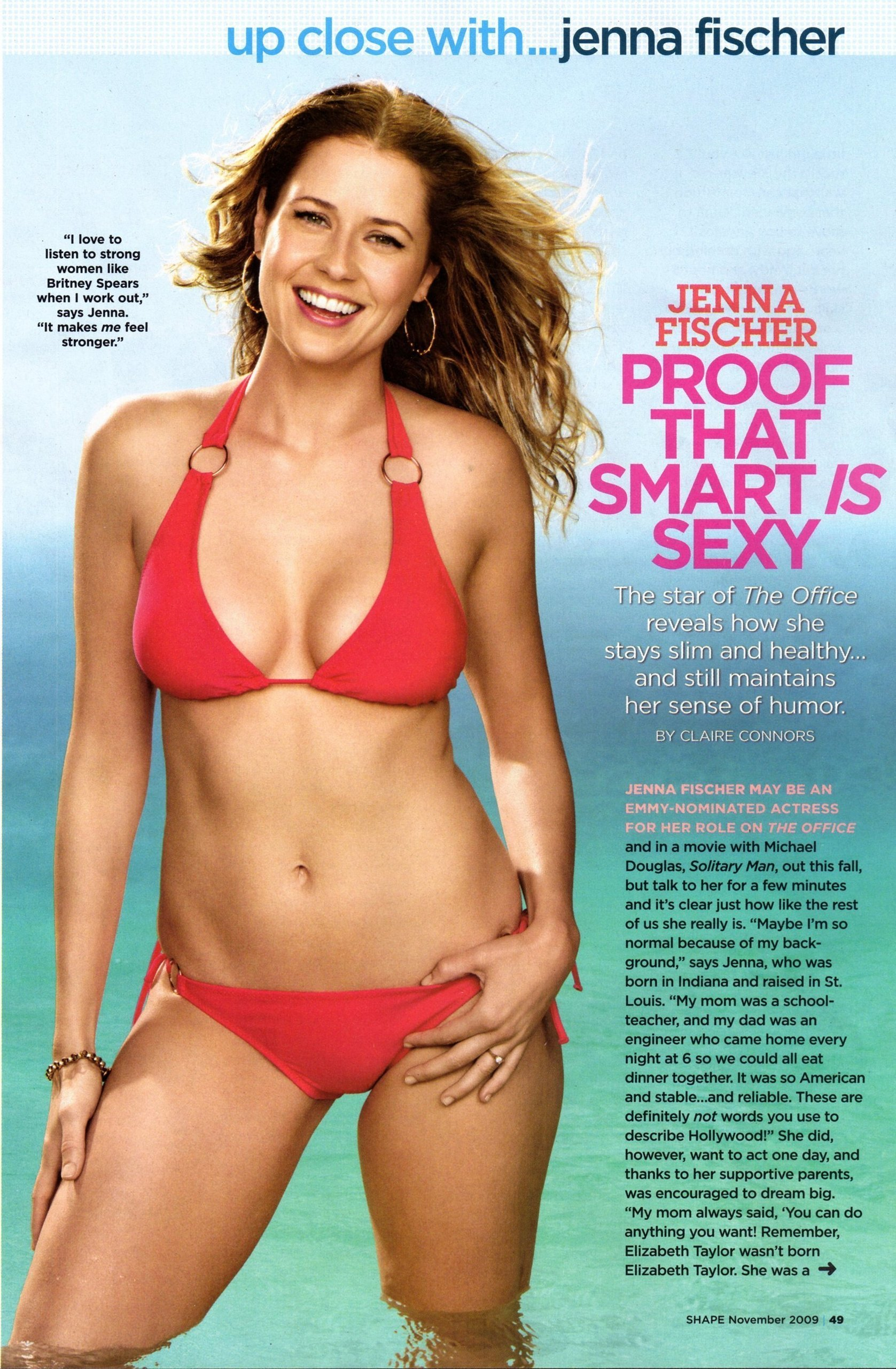 Quotes jenna fischer Magazine