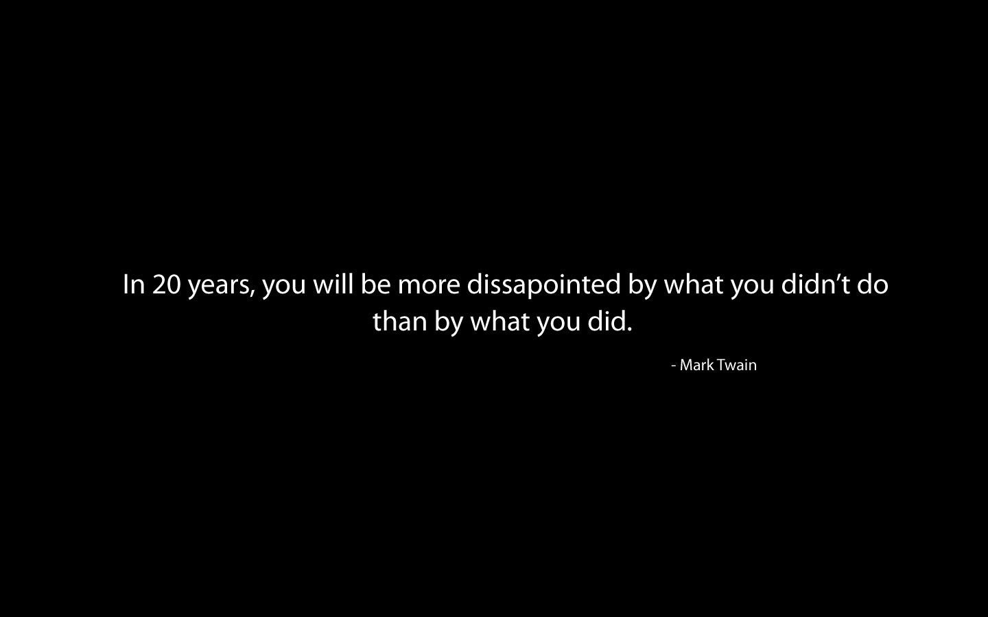 Quotes Mark Twain inspirational HD Wallpaper
