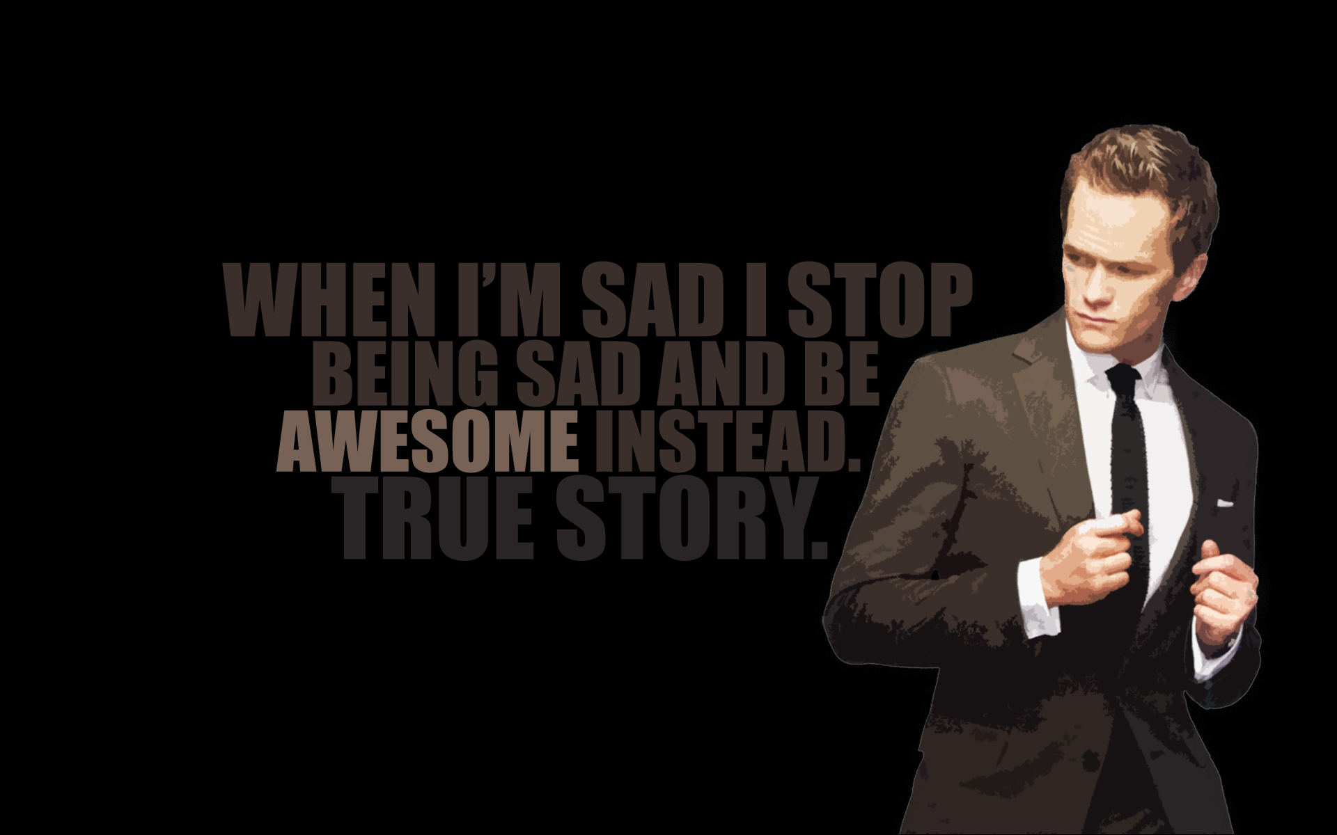 Quotes neil patrick harris HD Wallpaper