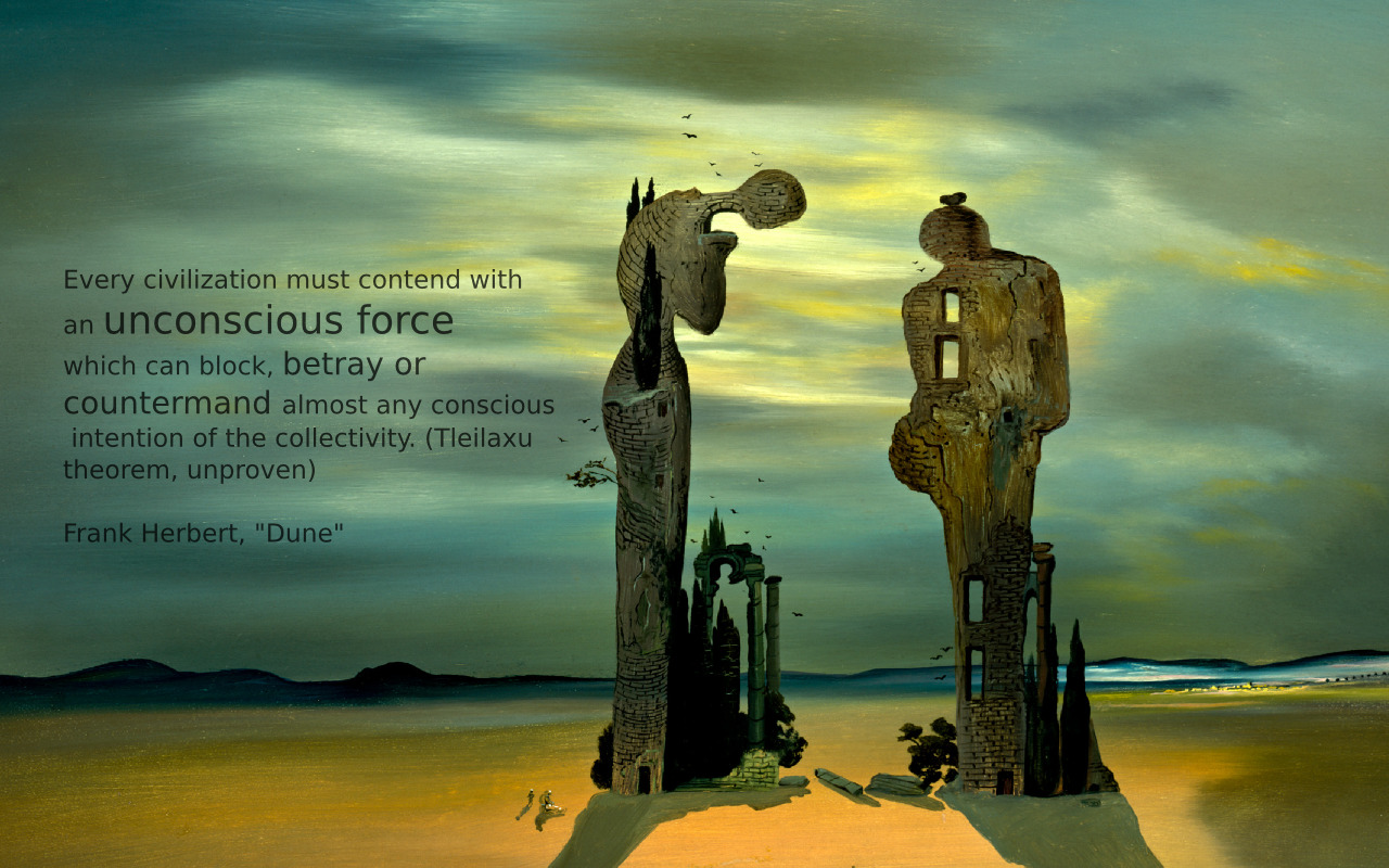 Quotes Salvador dal Dune HD Wallpaper