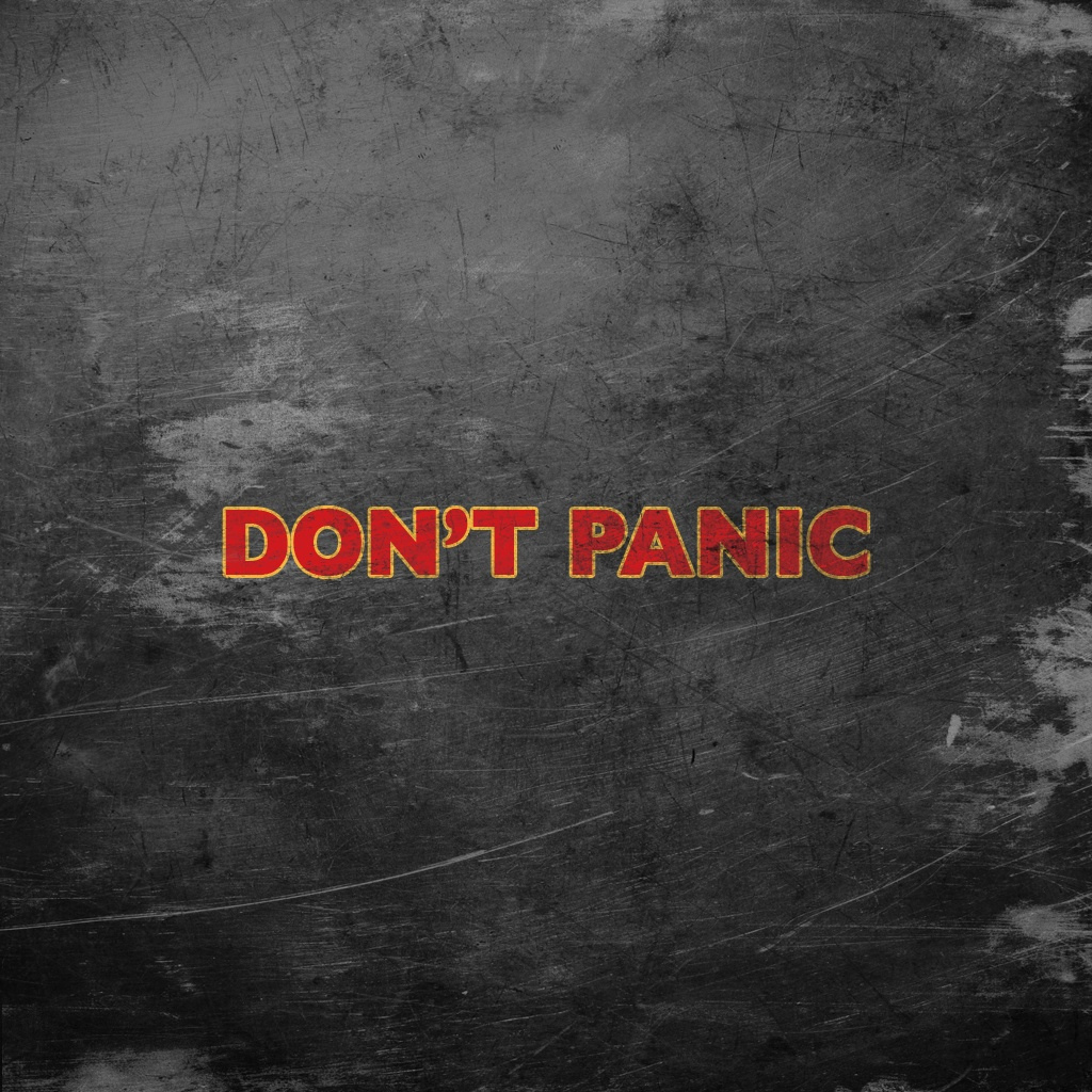 Quotes The Hitchhikers Guide HD Wallpaper