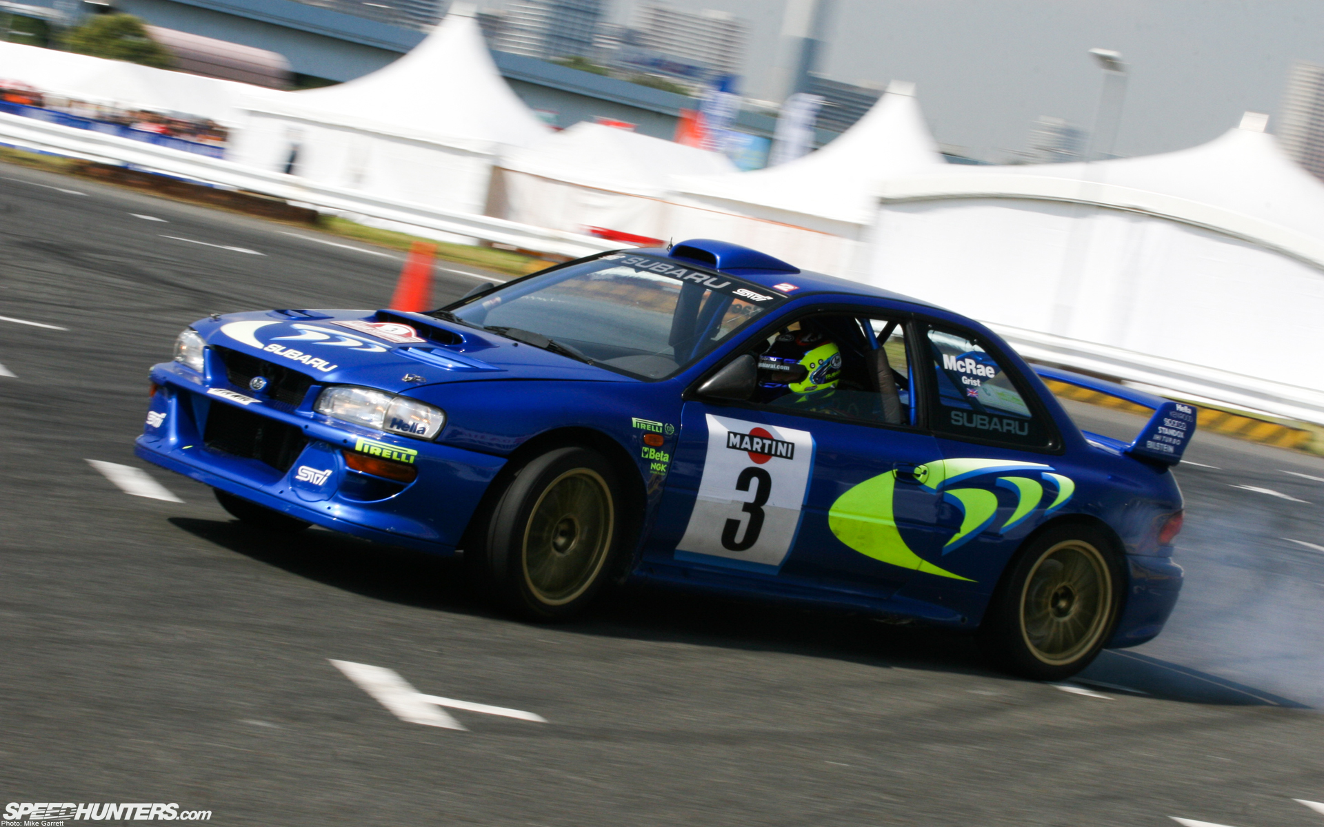 racing Subaru Impreza Wrx HD Wallpaper