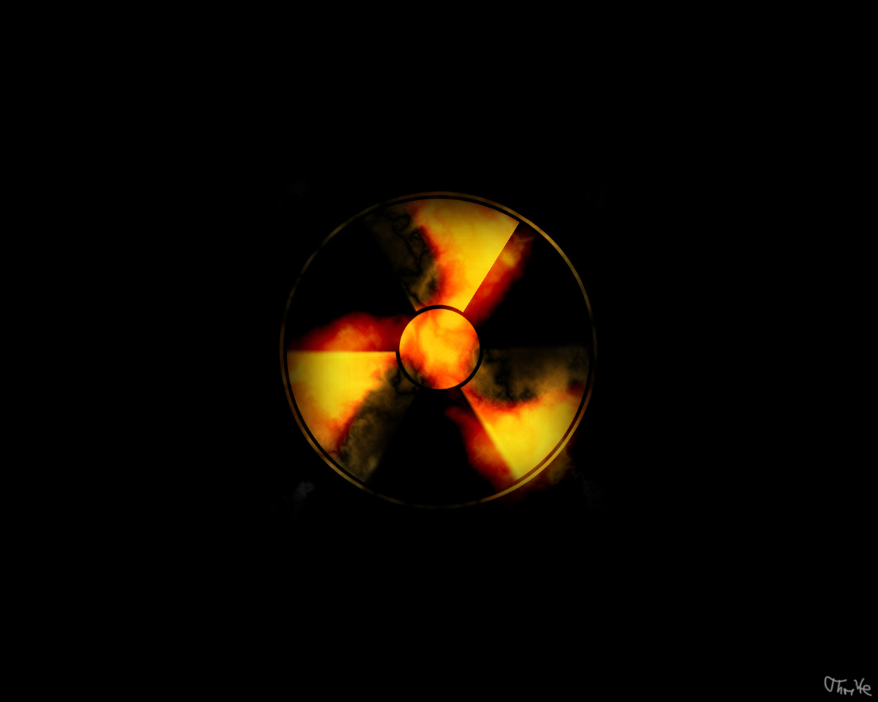 radioactive radiation symbol nuke