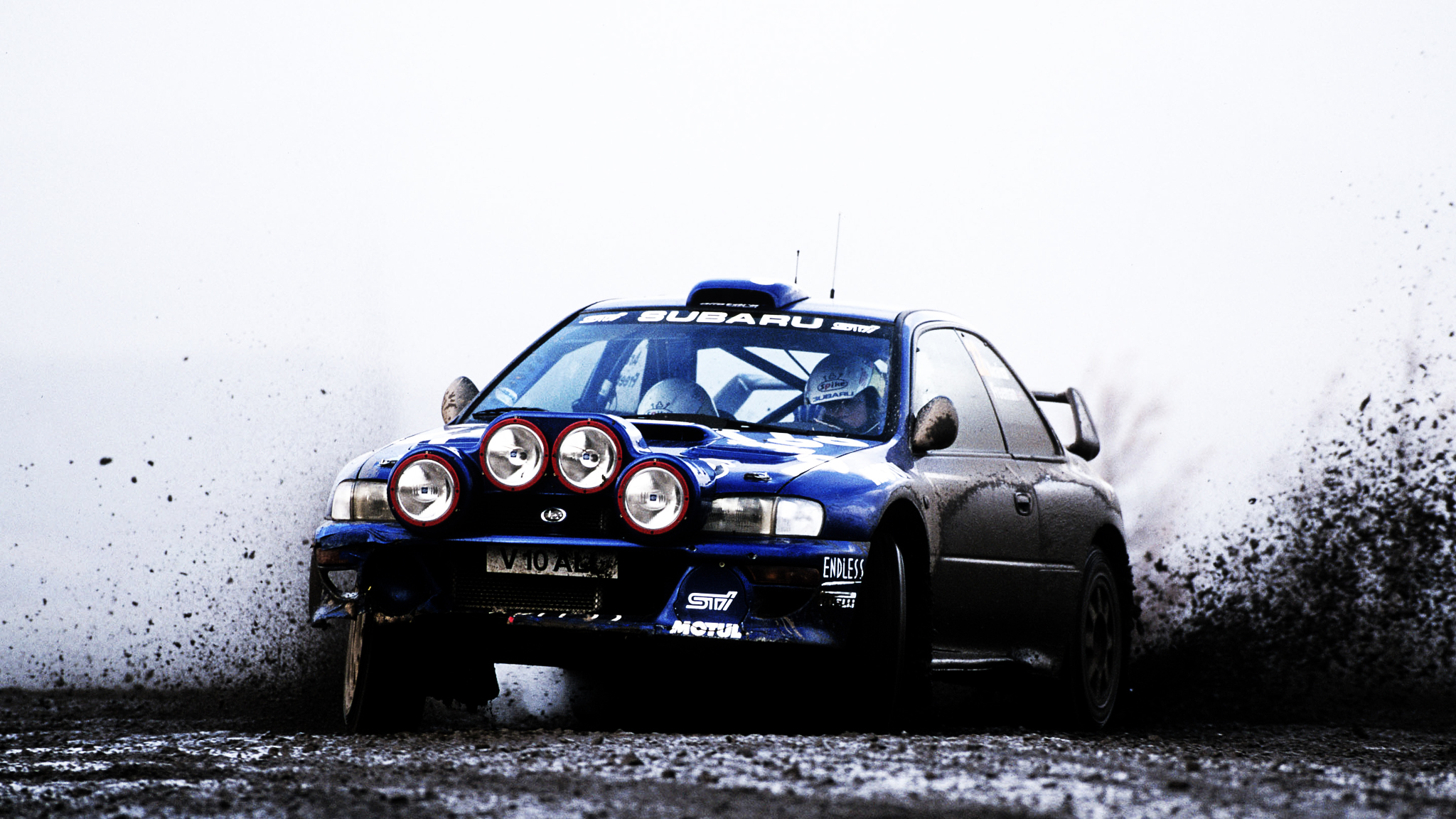 Rally Car cars Subaru HD Wallpaper
