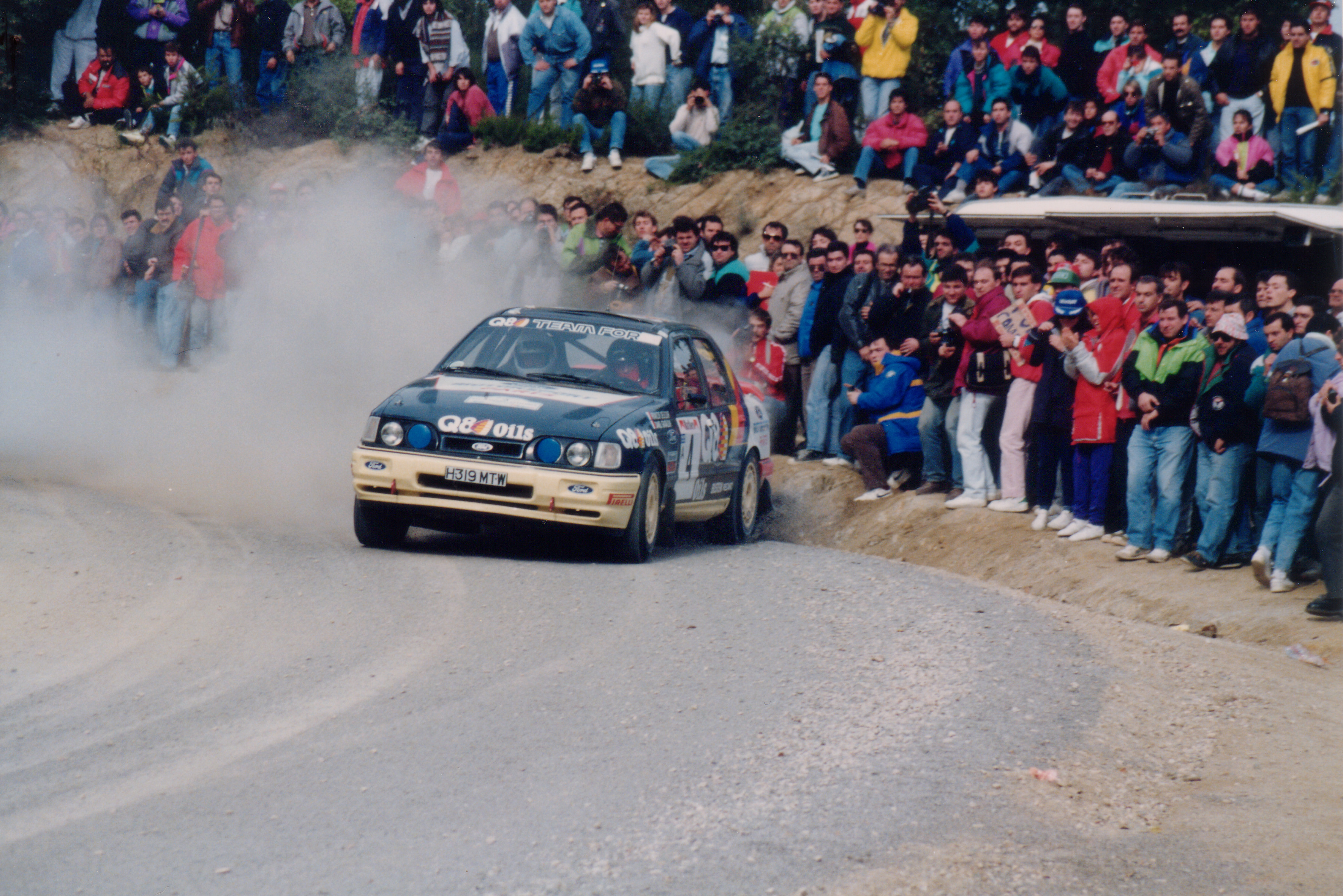 rally racing Ford Escort HD Wallpaper