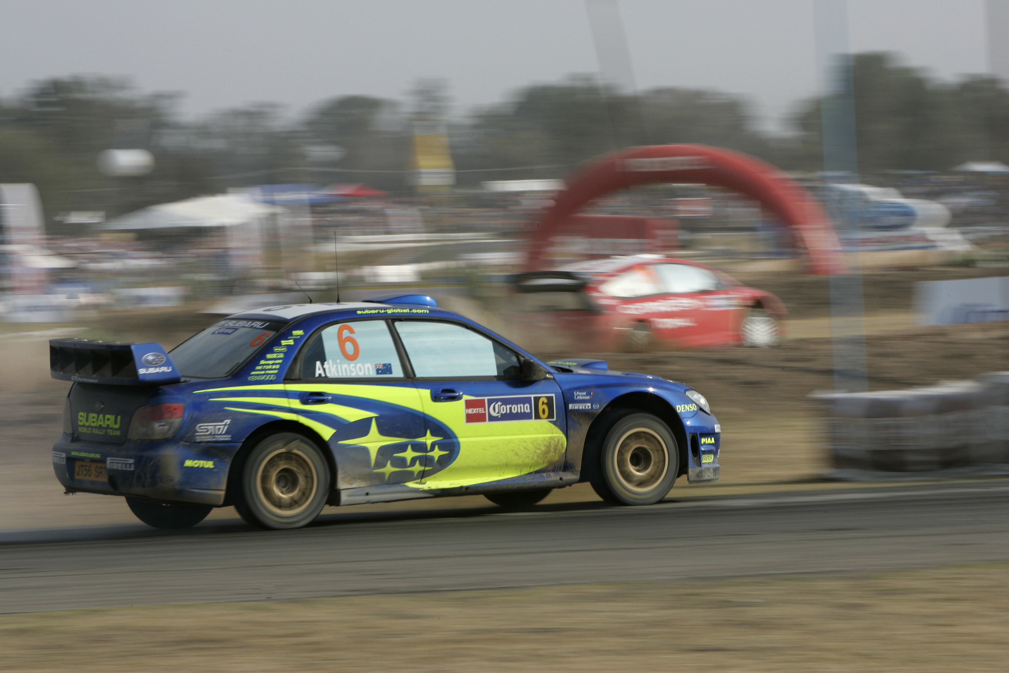 rally Subaru Sti Impreza HD Wallpaper