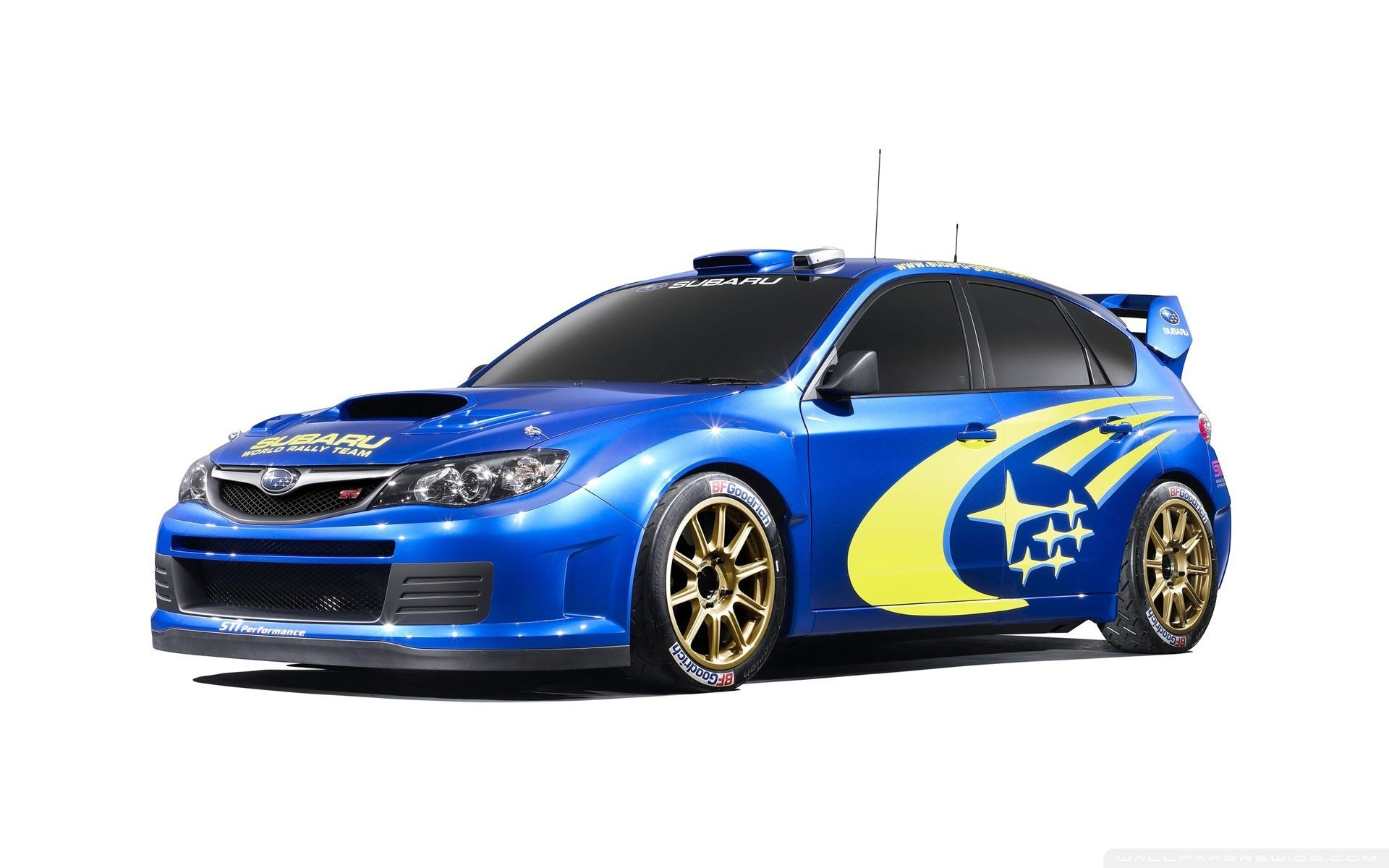 rally Subaru subaru impreza HD Wallpaper