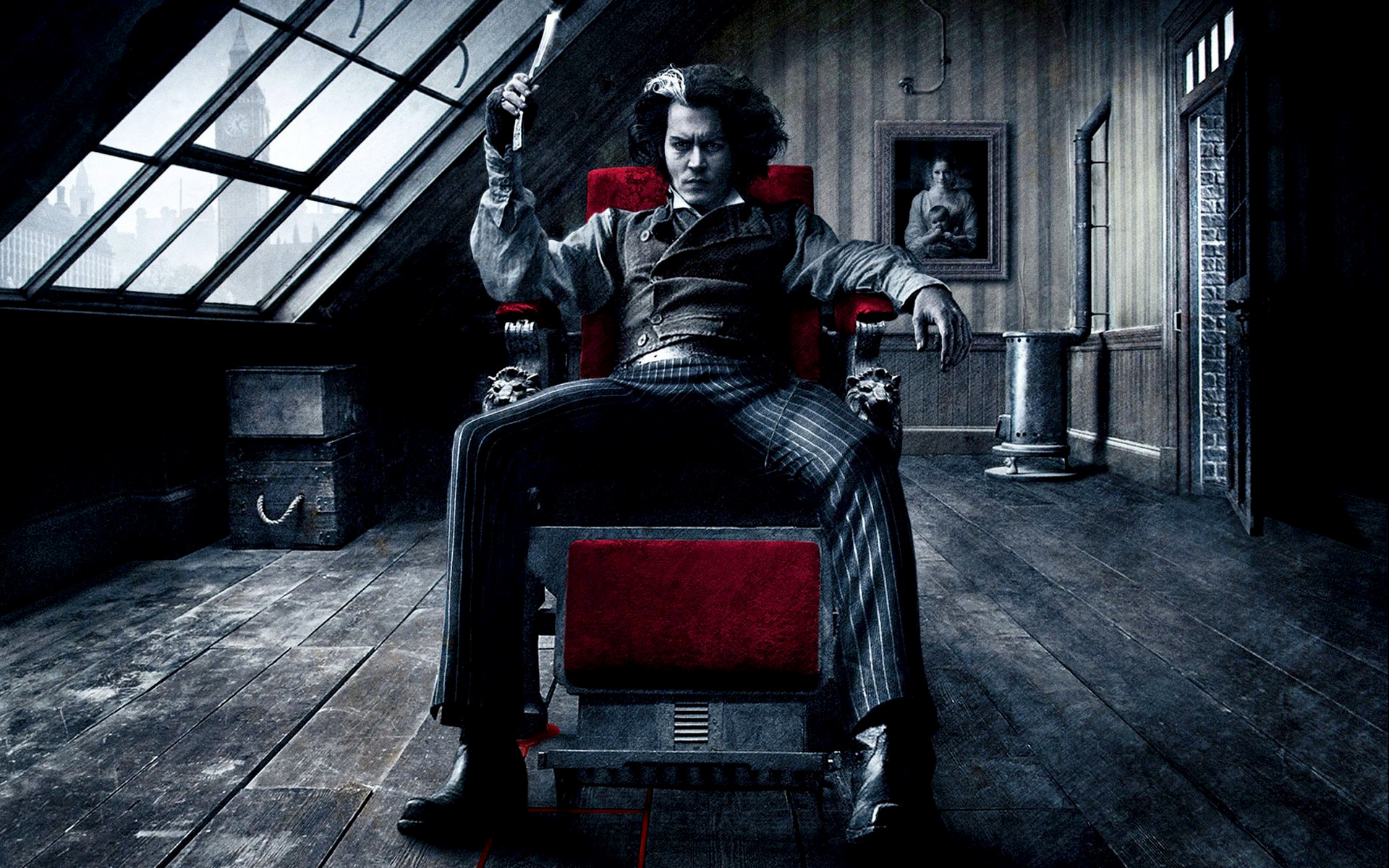 Razor sweeney todd johnny HD Wallpaper