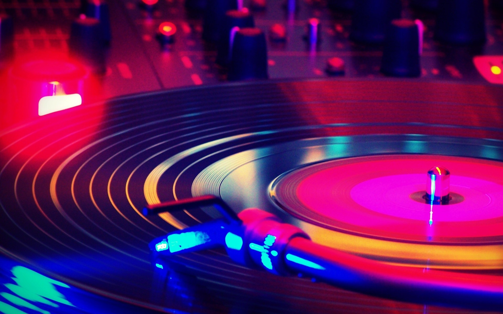 record player HD Wallpaper