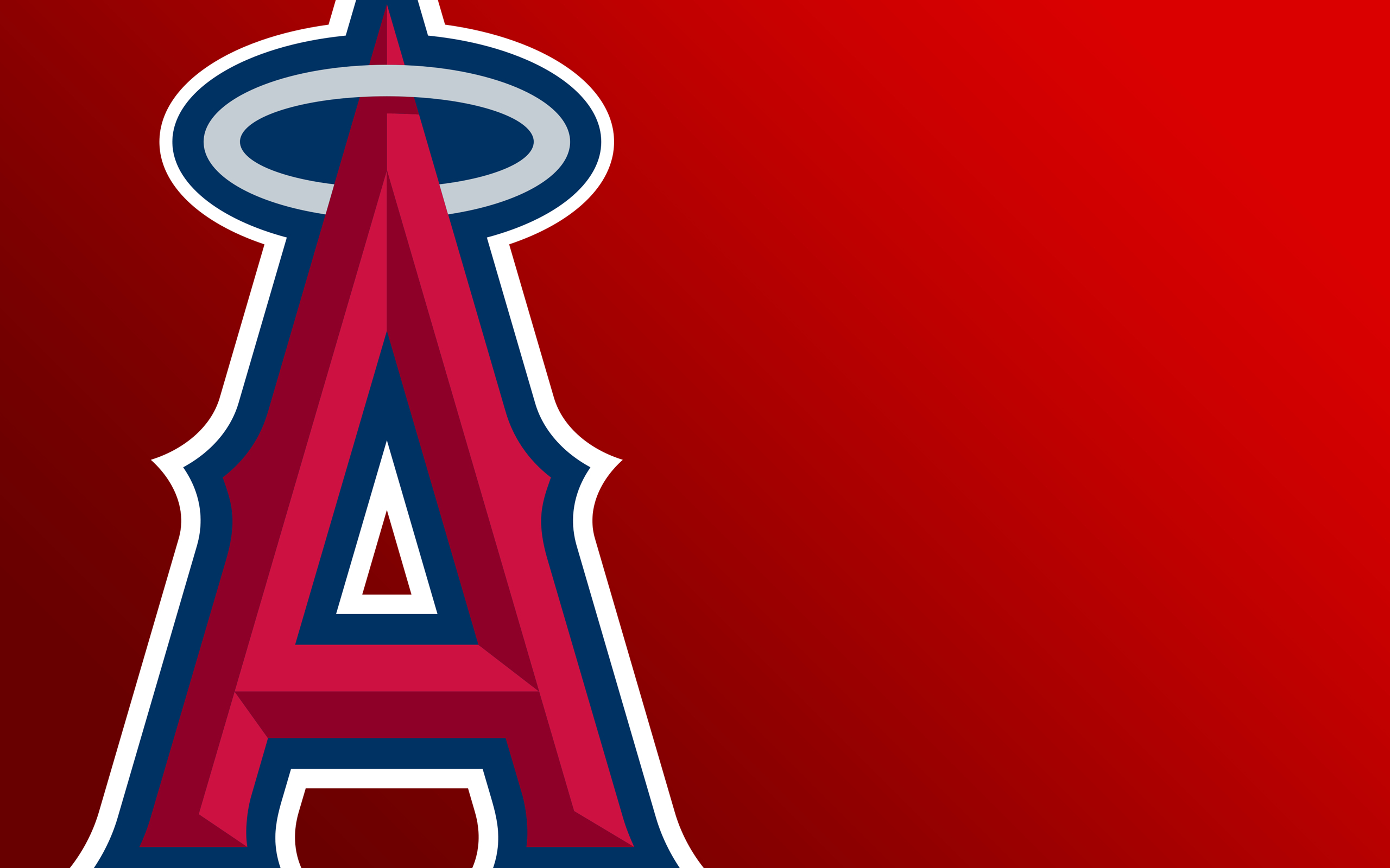 red baseball California mlb HD Wallpaper