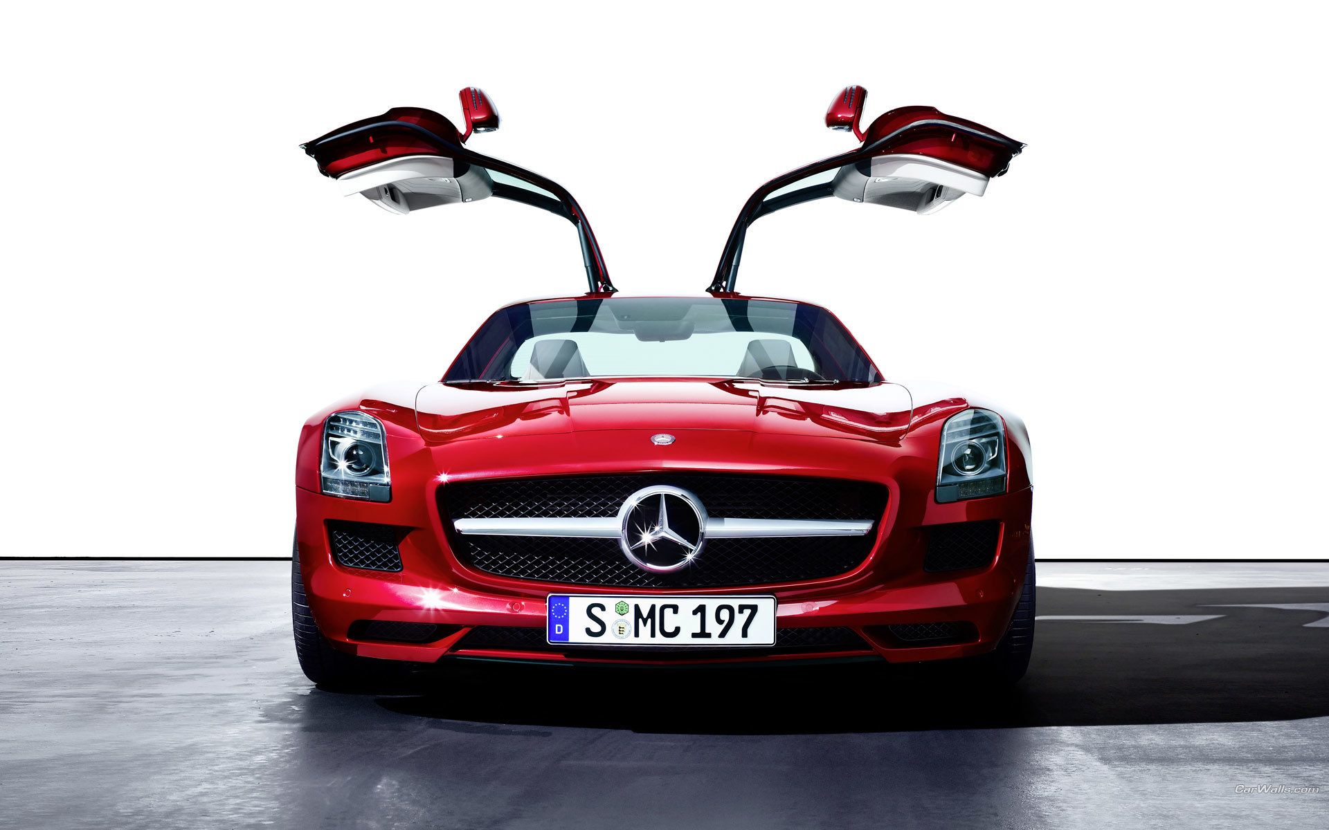 red cars vehicles mercedes-benz HD Wallpaper