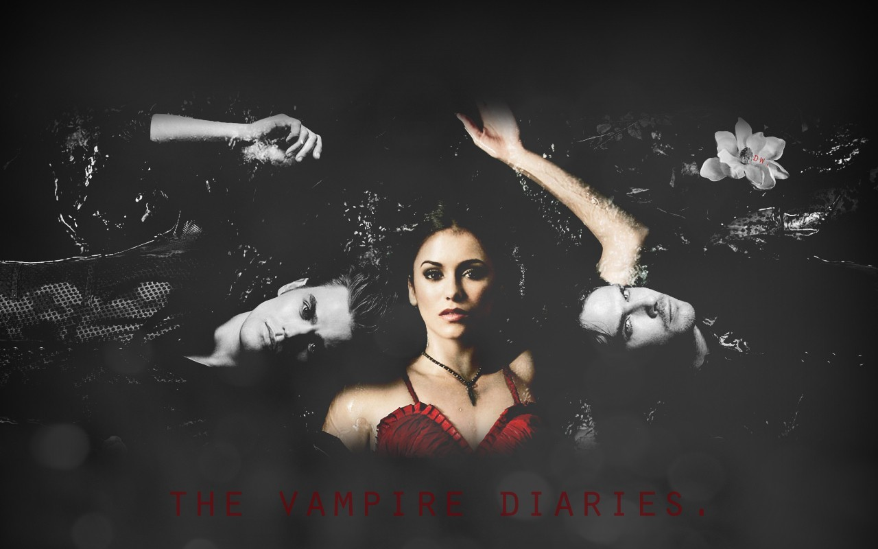 red Nina Dobrev The HD Wallpaper