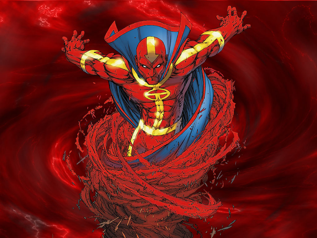 Red Tornado HD Wallpaper