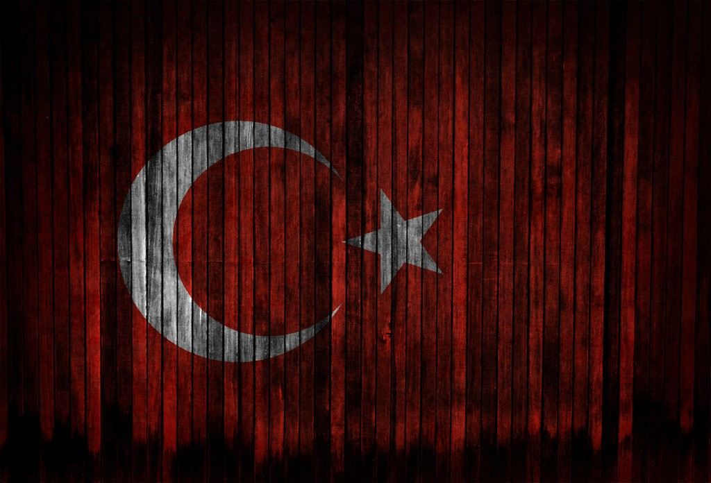 red white Flags Turkey HD Wallpaper