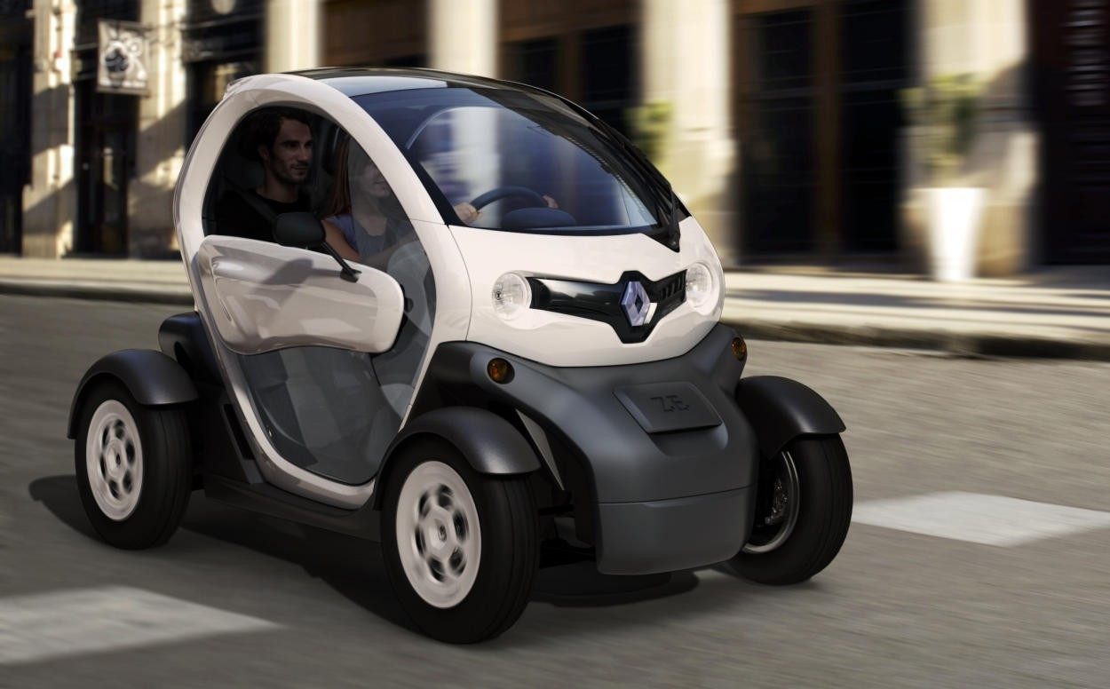 Renault cars Renault Twizy HD Wallpaper