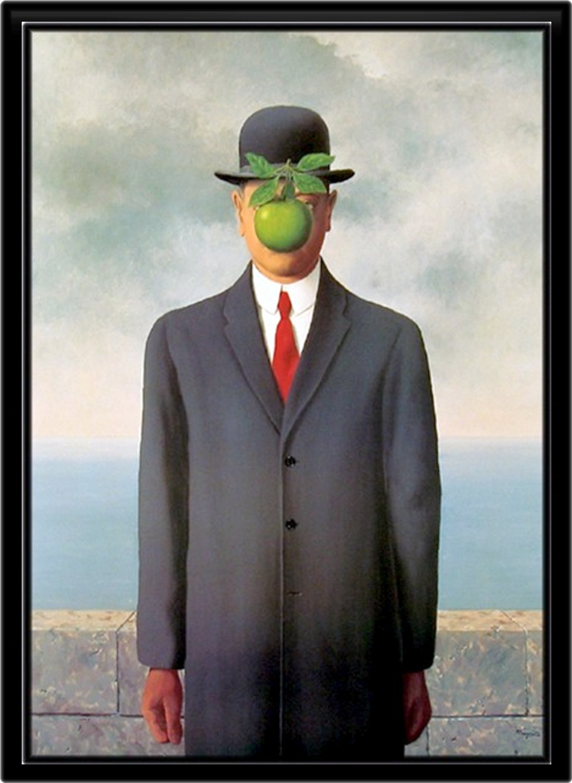 rene magritte son of HD Wallpaper