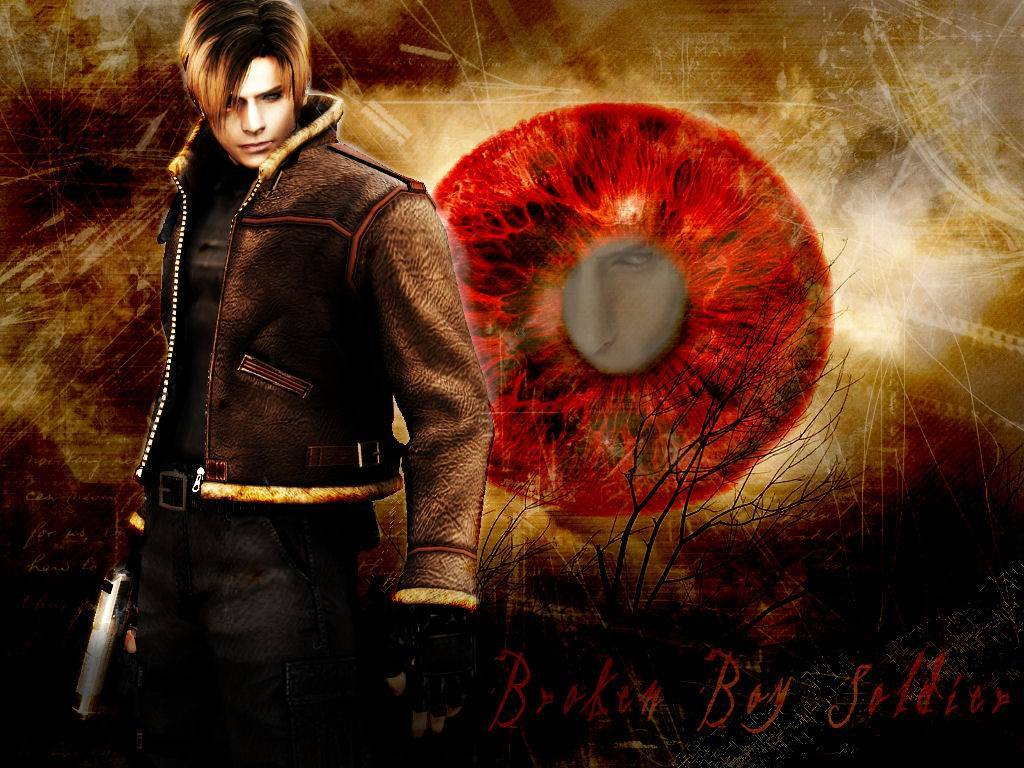resident evil Leon kennedy HD Wallpaper