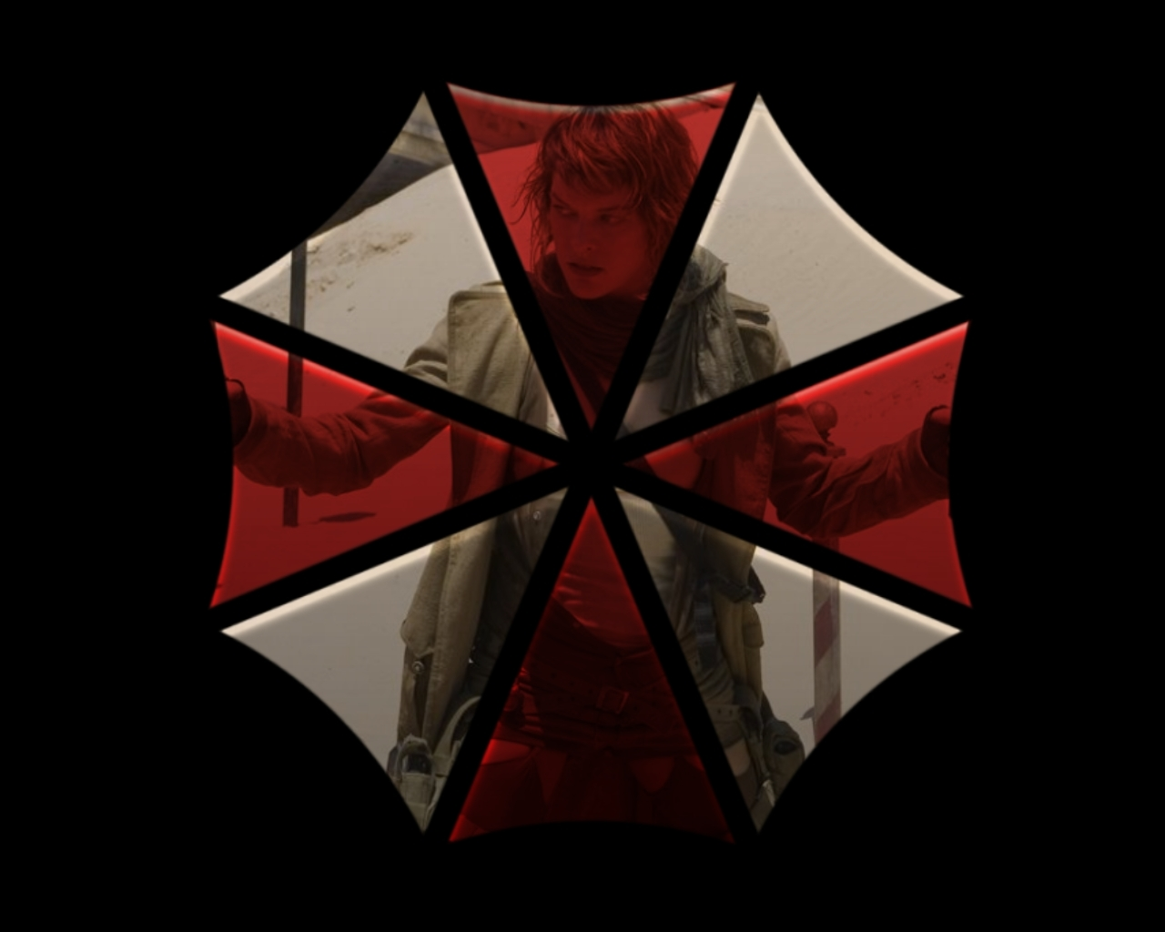 resident evil umbrella corp HD Wallpaper