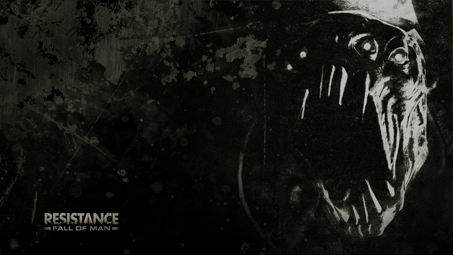 resistance fall man science-fiction HD Wallpaper
