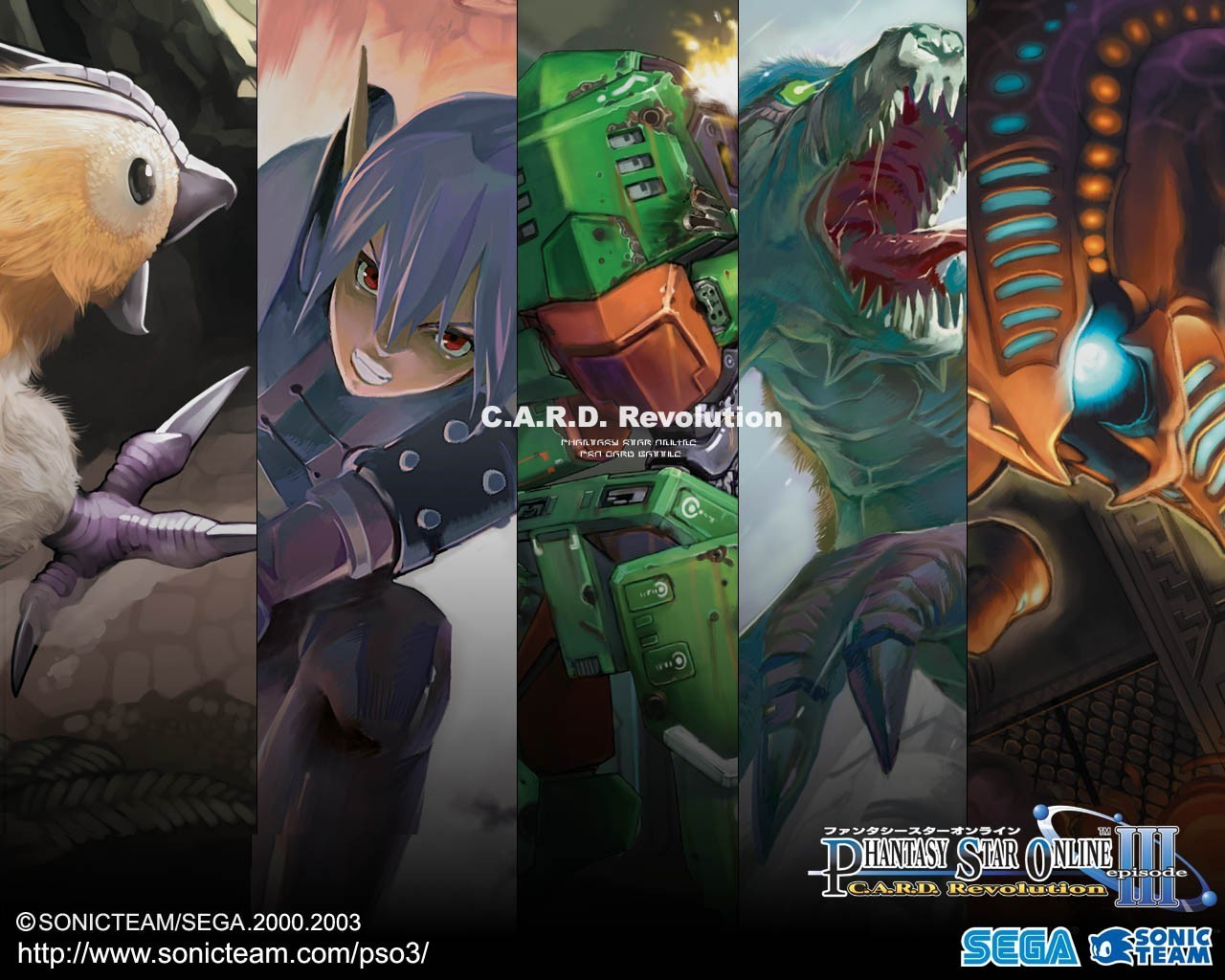 revolution Phantasy Star Online HD Wallpaper