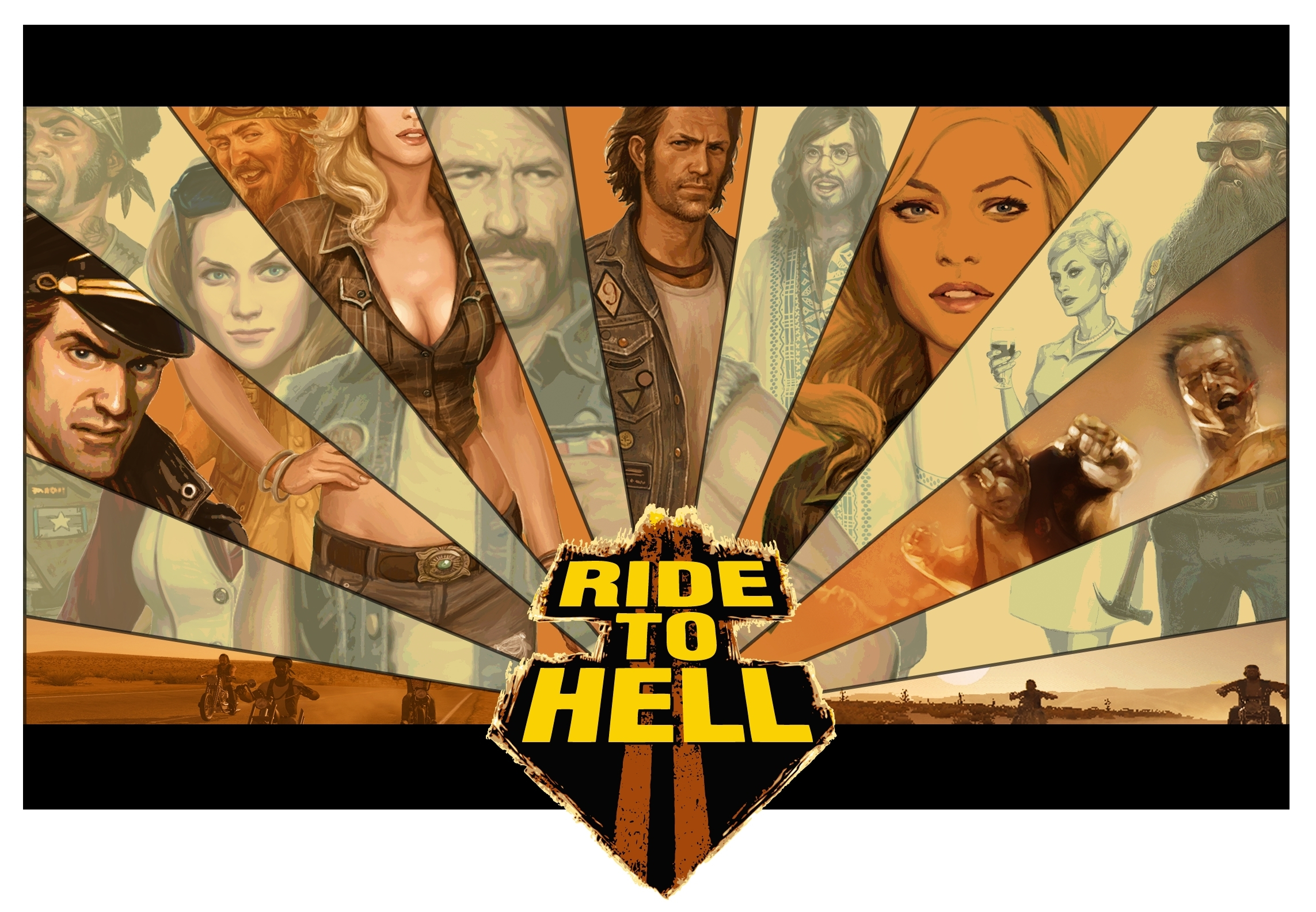 ride to hell key HD Wallpaper